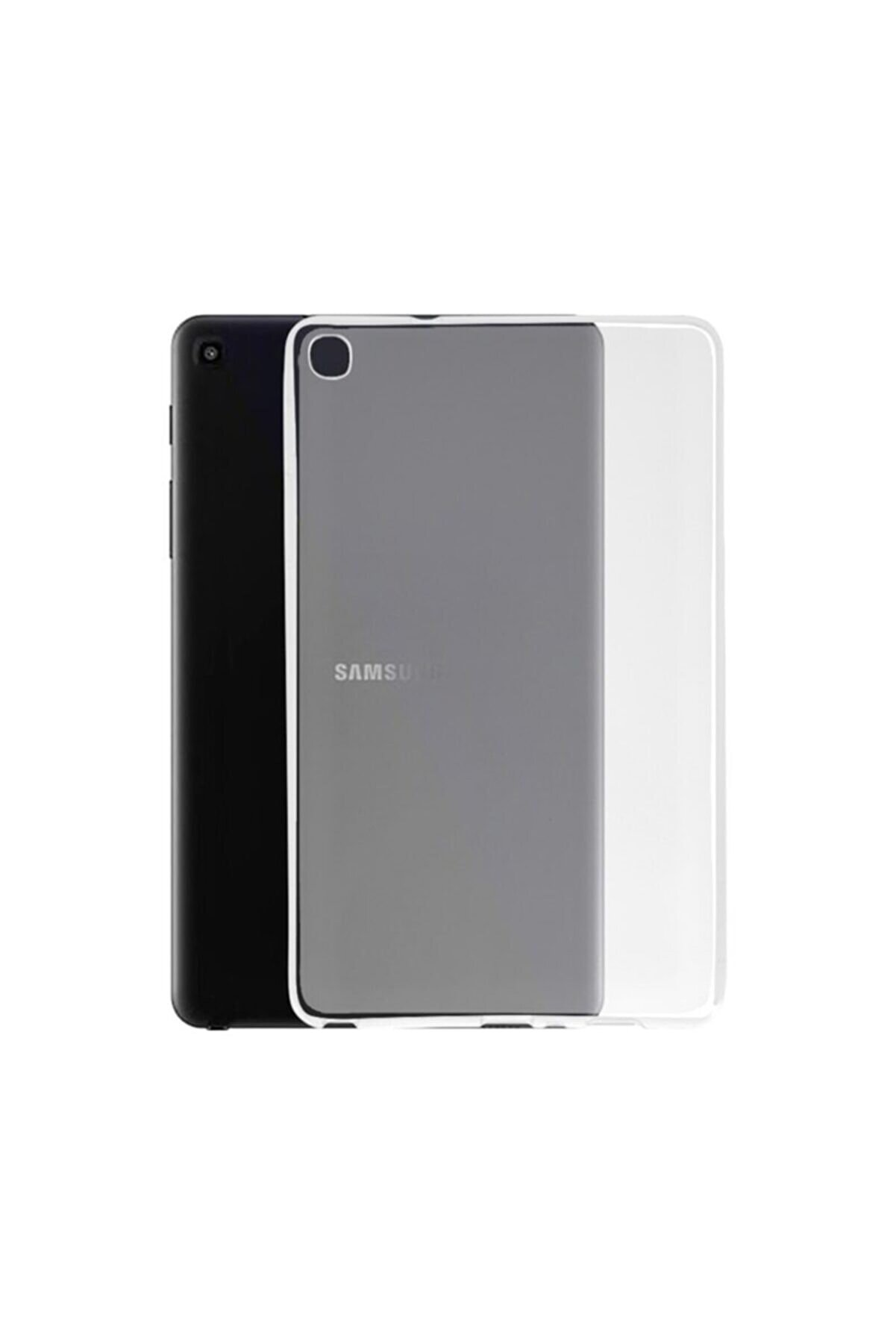 MOBAX Samsung Galaxy Tab A 8.0 T290 T295 T297 Kılıf İnce Arka Yumuşak Silikon Kılıf Buzlu
