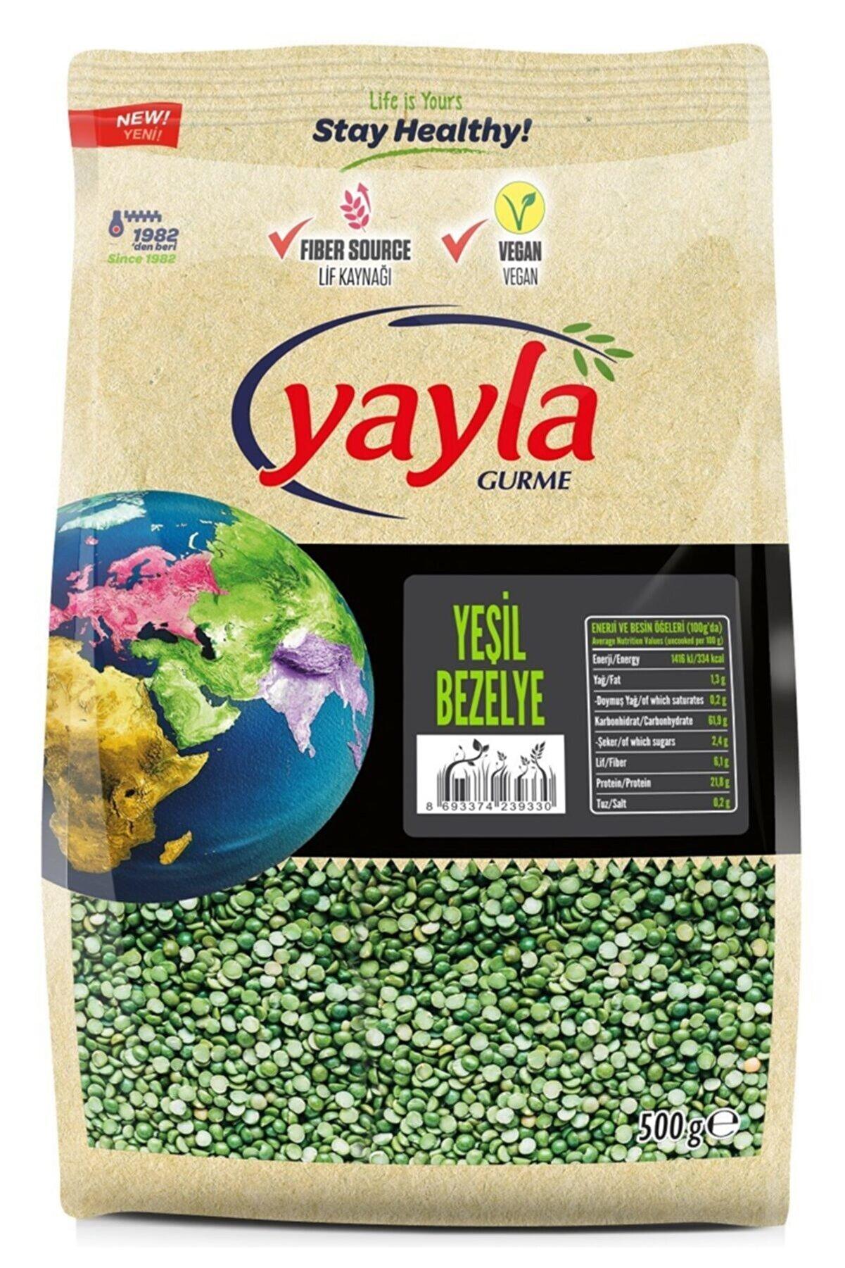 Yayla Gurme Yeşil Bezelye 500 gr