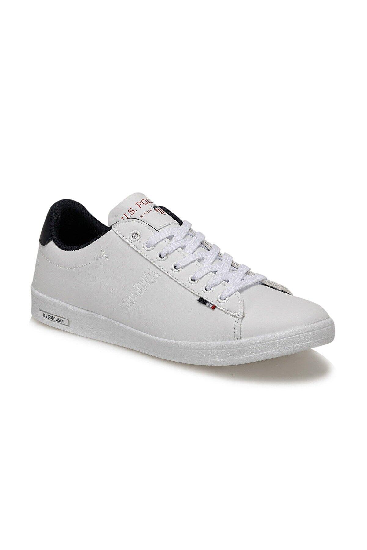 US Polo Assn U.s. Polo Assn. Franco Beyaz Erkek Kadın Günlük Ayakkabı Sneaker