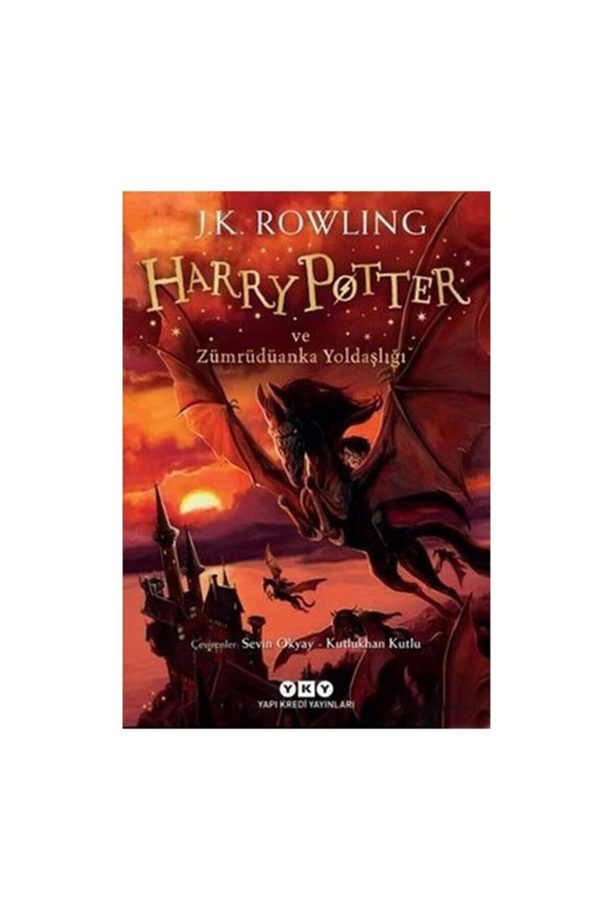 Yapı Kredi Yayınları Harry Potter 5 Harry Potter Ve Zümrüdüanka Yoldaşlığı J.k. Rowling