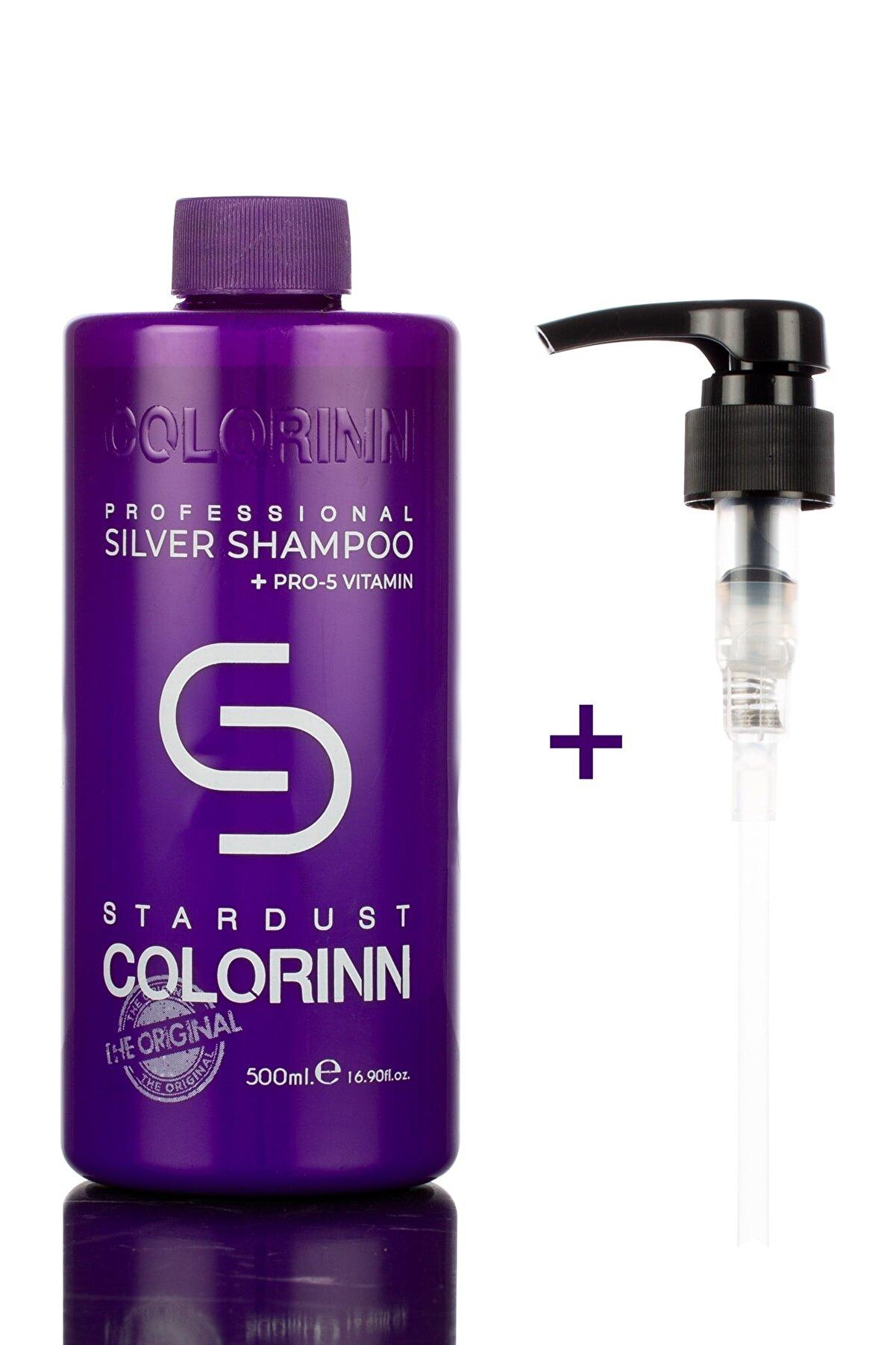Colorinn Premium Series Pro Silver Turunculaşma Karşıtı Mor Şampuan 500 ml