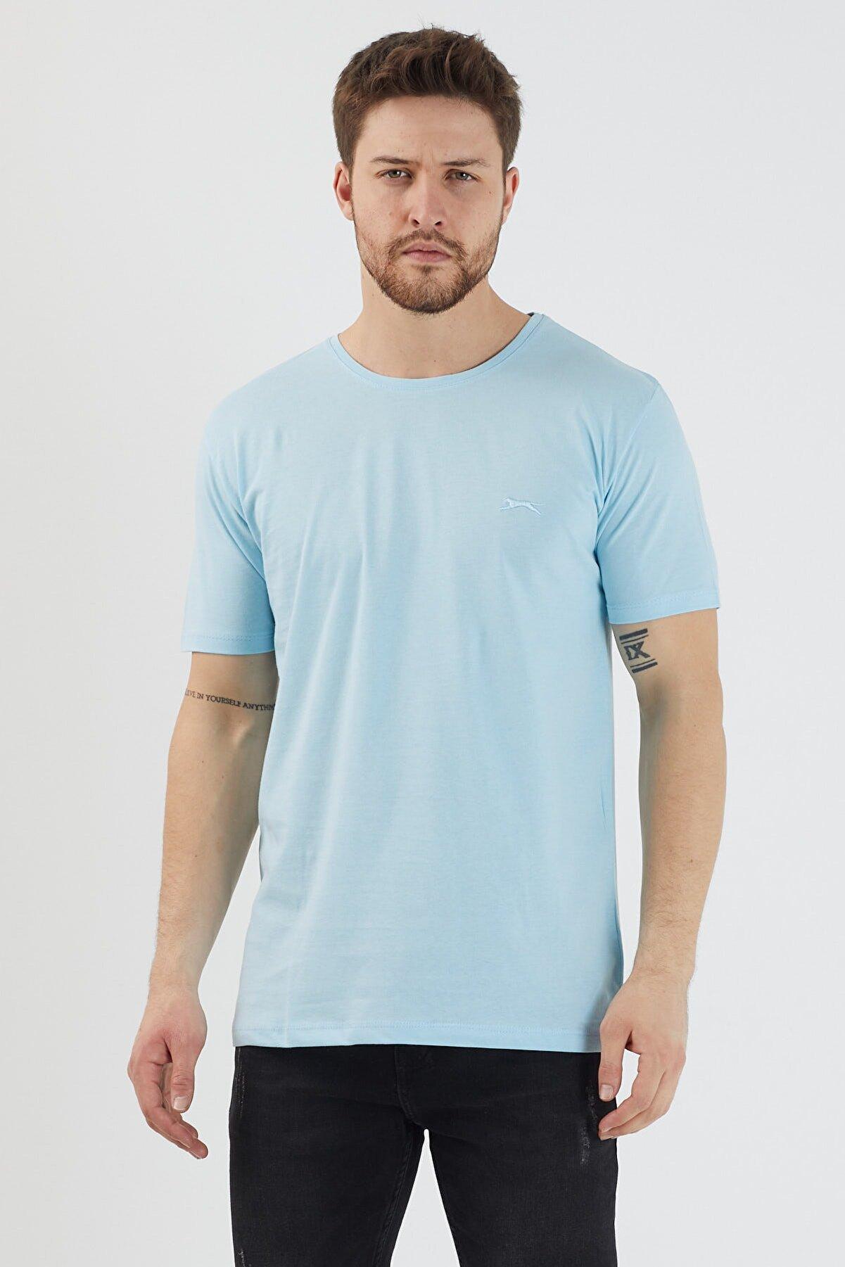 Slazenger Sander Erkek T-shirt A.mavi St11te083