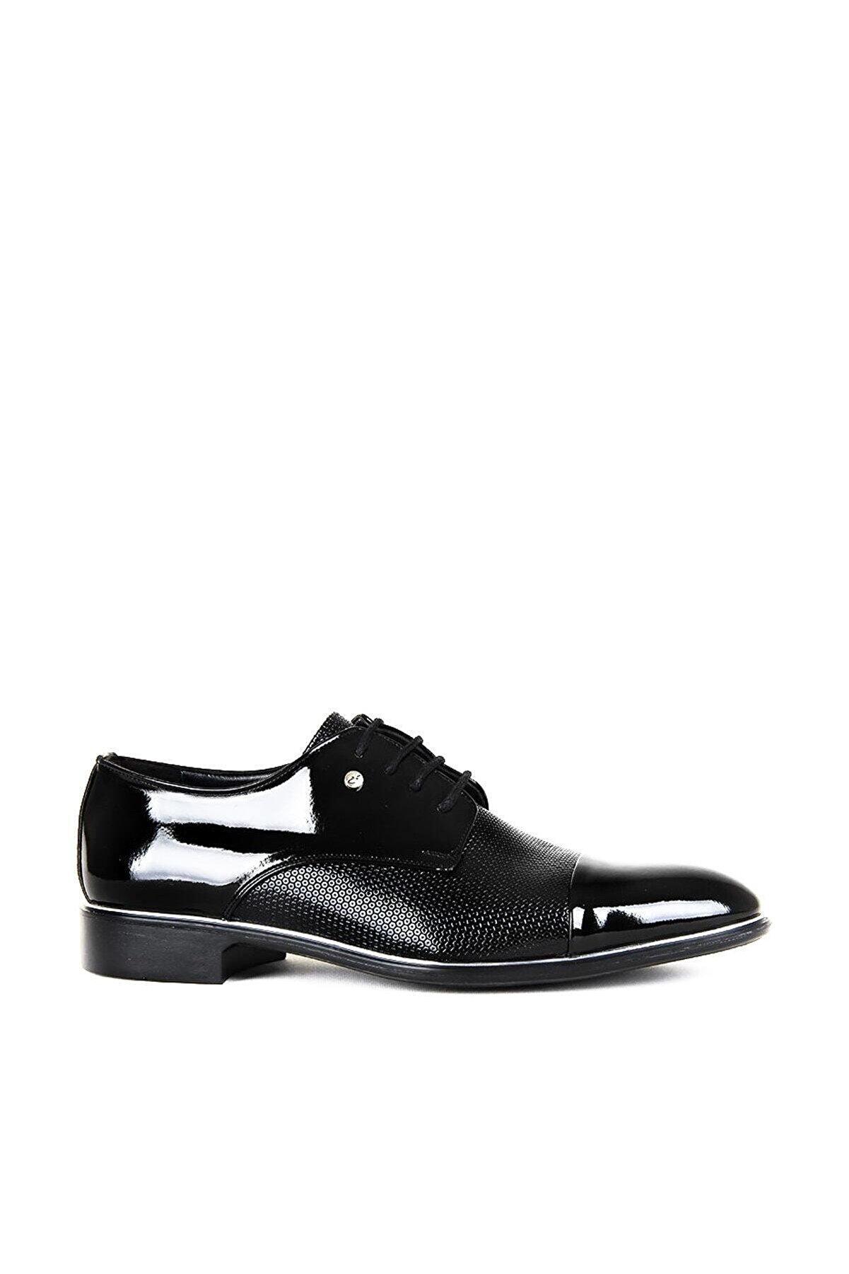 maximoda Siyah Erkek Klasik Ayakkabı PRA-408022-566116