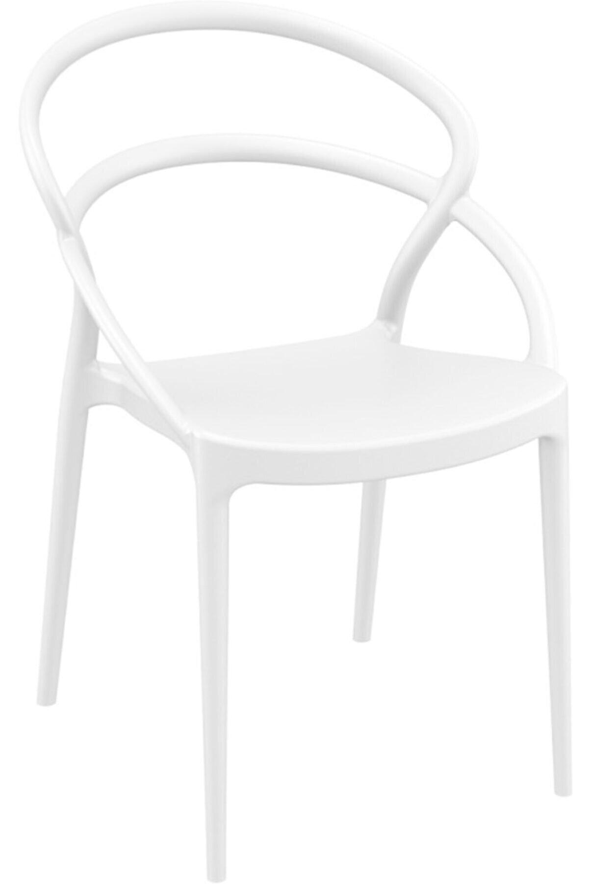 Siesta Pıa Sandalye Beyaz