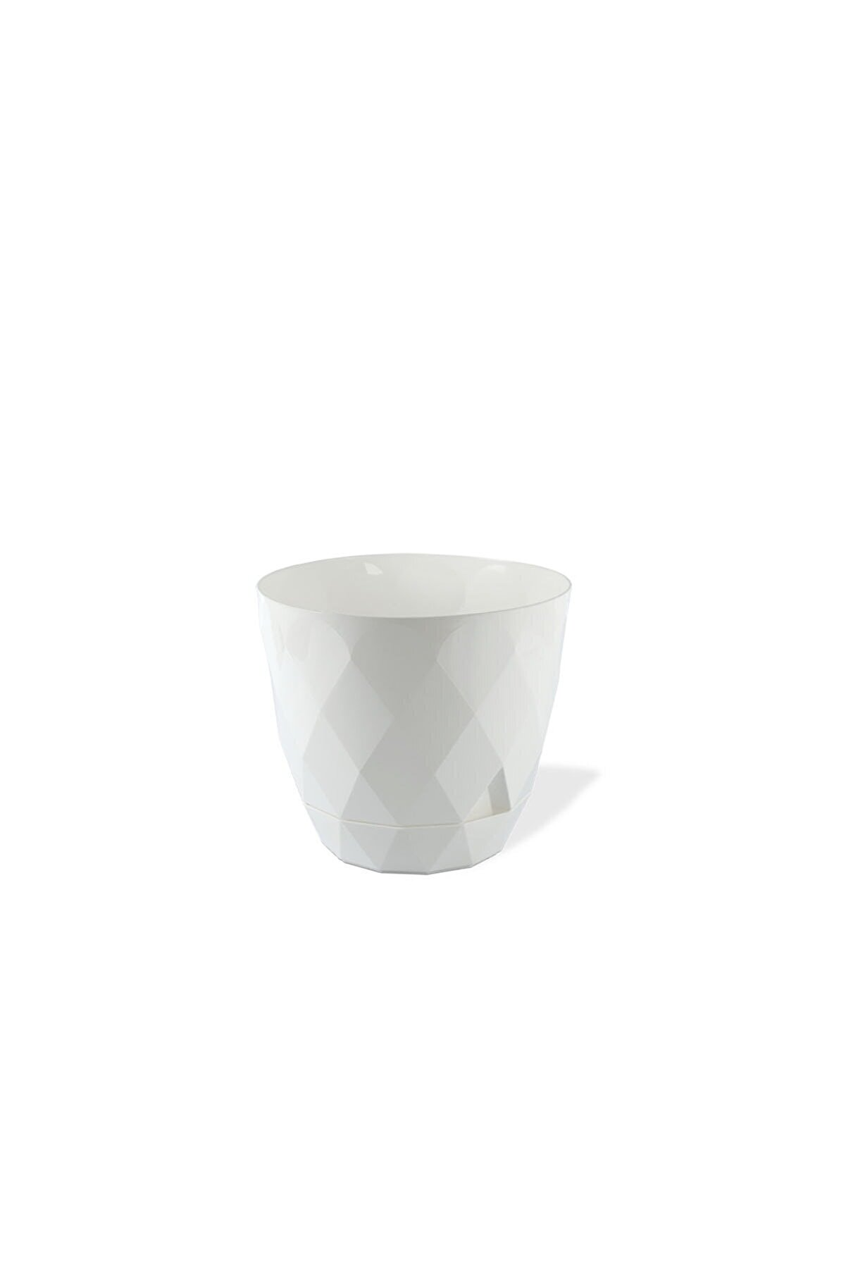 Karasu plastık Tahtakale Avm Karasu Plastik 4 8 L Beyaz Yakamoz Saksı