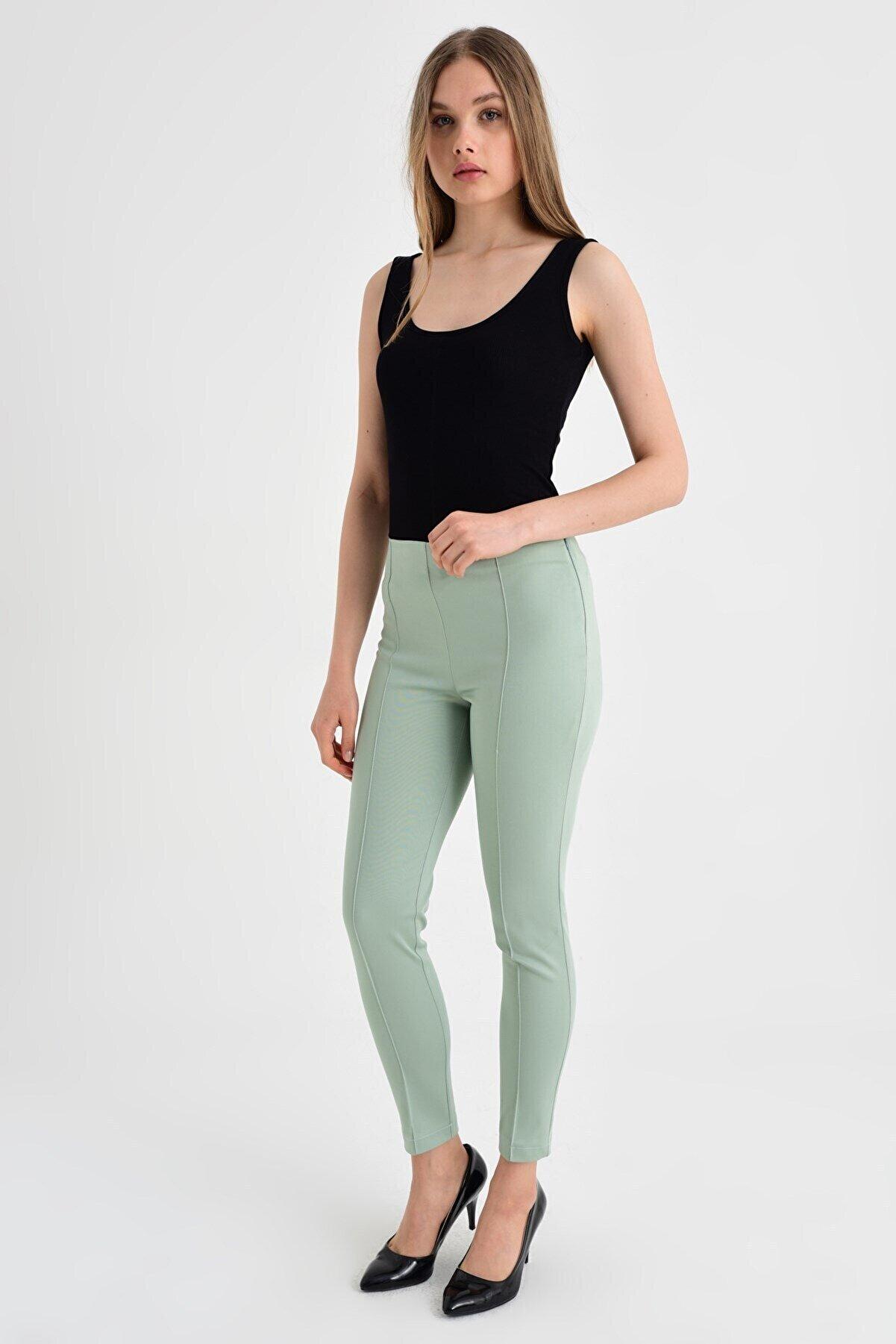 Jument Kadın Mint Pantolon 40004