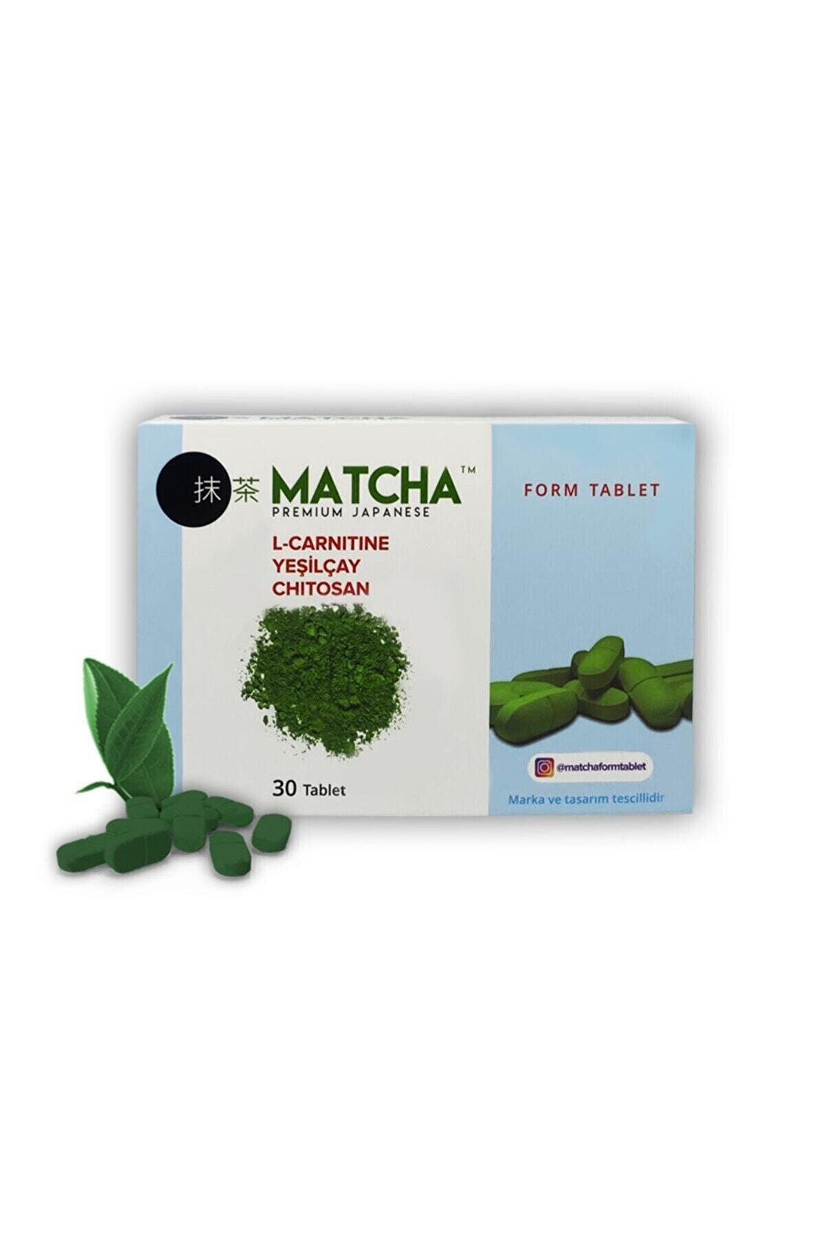 Bilge İlaç Matcha Form L-carnitine Tablet 1350mg