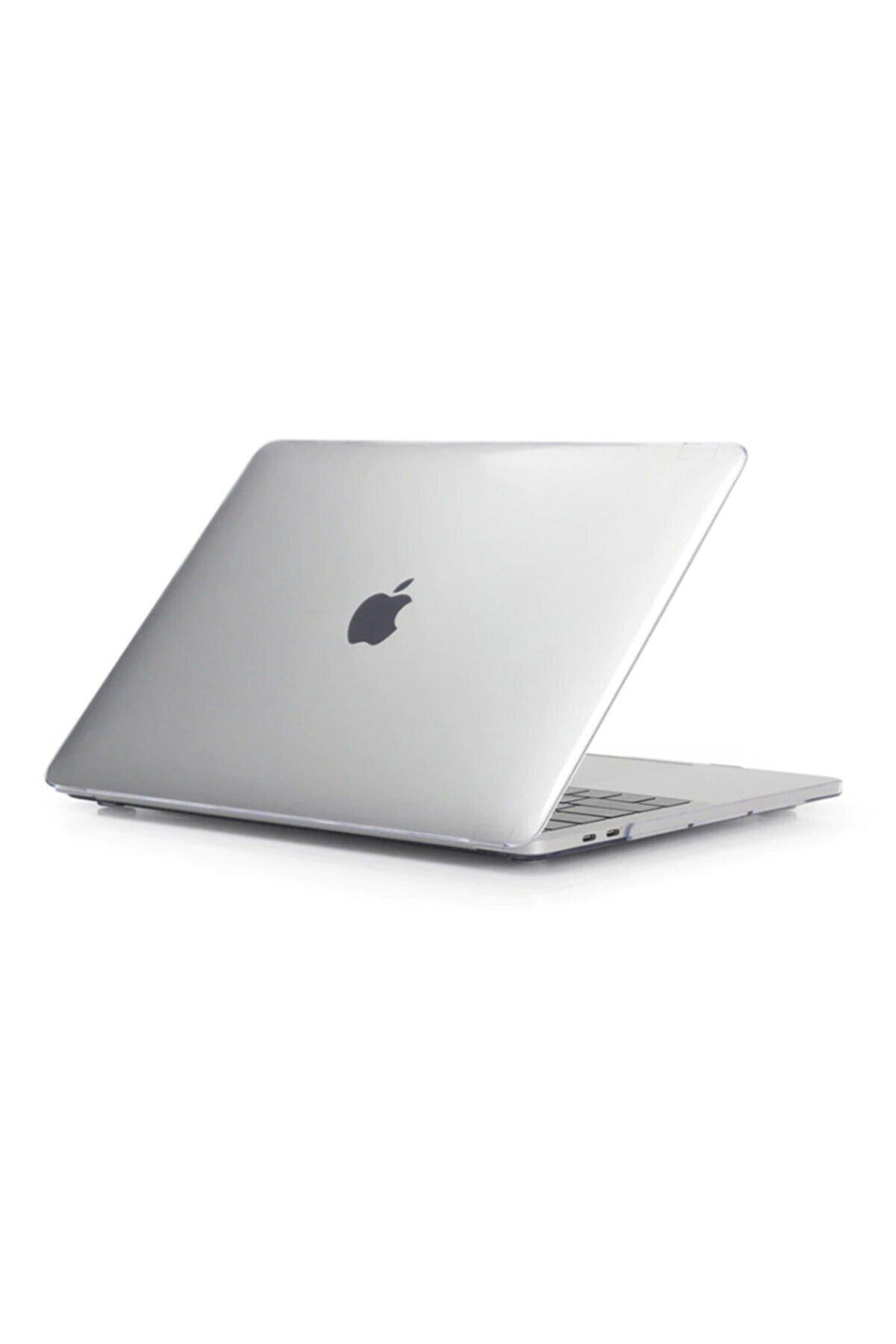 KIZILKAYA Apple Macbook Pro 2020 A2338 Beyaz 13 Inç Touch Bar Sert Kapak Koruma Kılıf