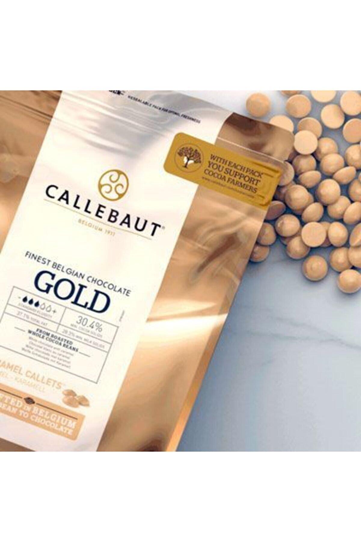 Callebaut Gold Karamel Çikolata 250 gr