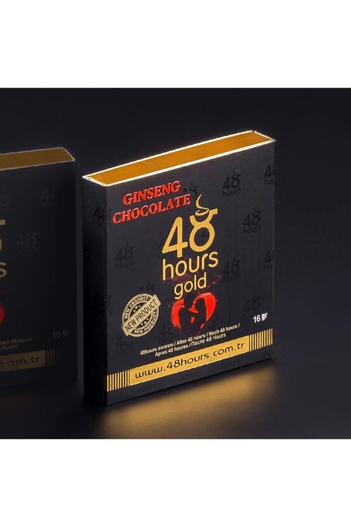 48Hours Ginseng 48 Hours Gold Çikolata 6'lı