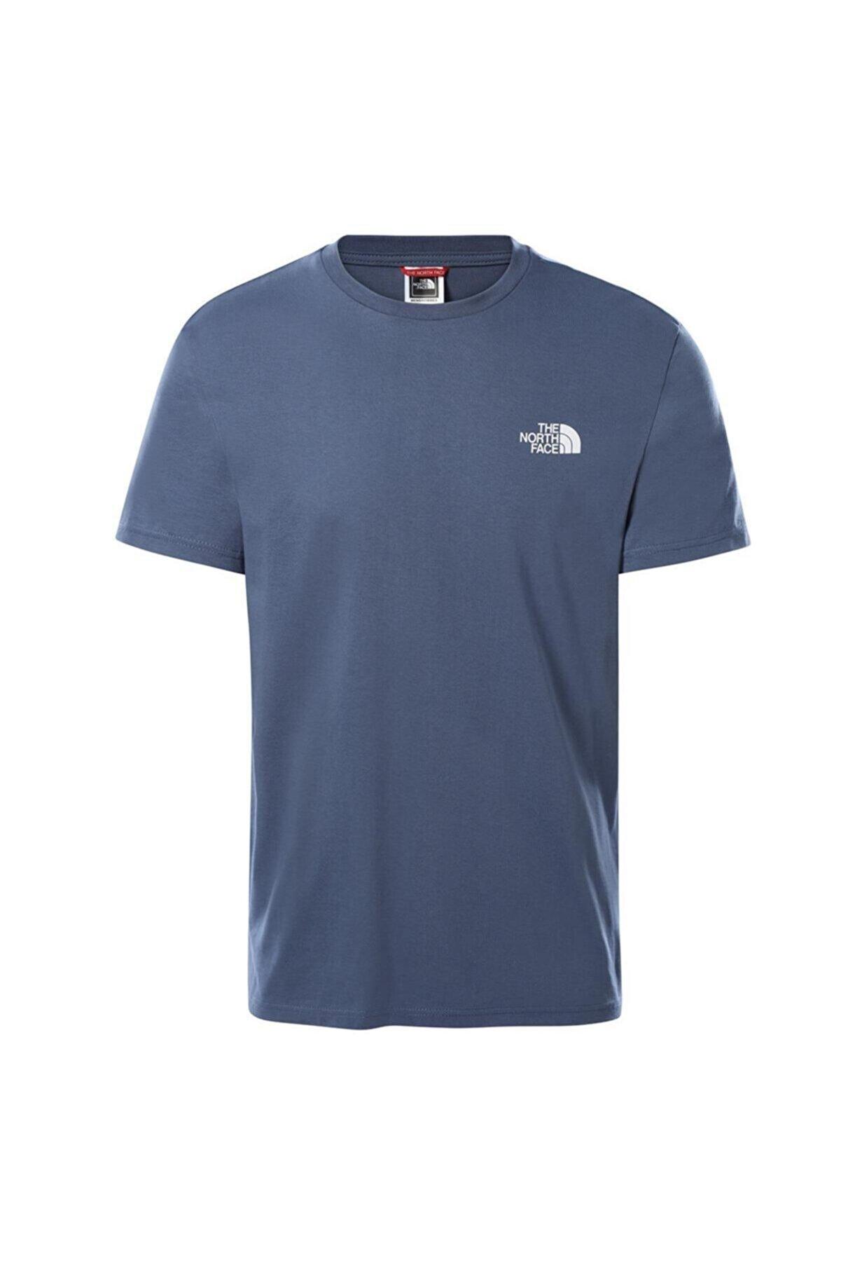 The North Face Erkek Mavi Simple Dome  T-shirt