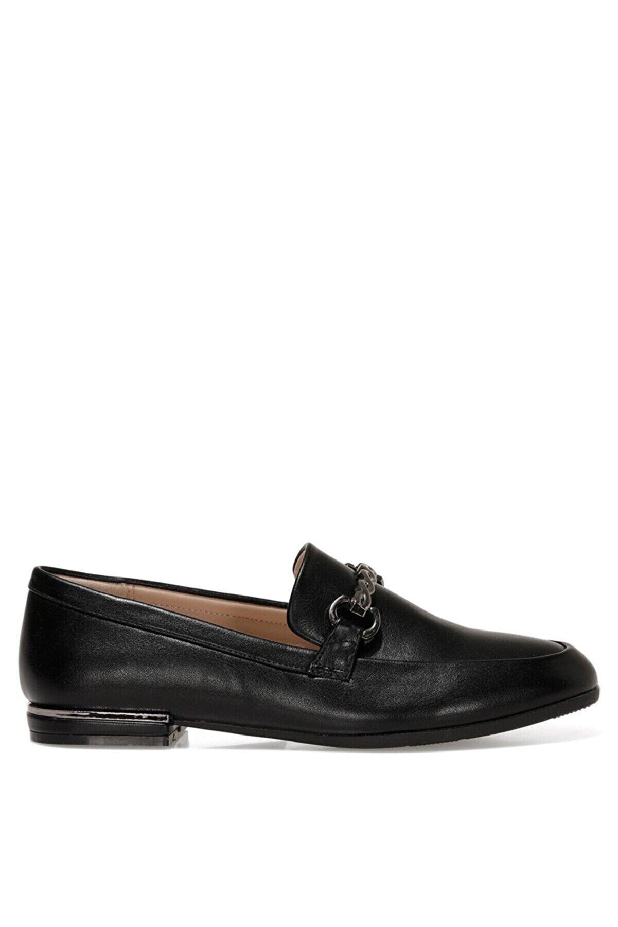 Nine West ROMAH 1FX Siyah Kadın Loafer Ayakkabı 101008899