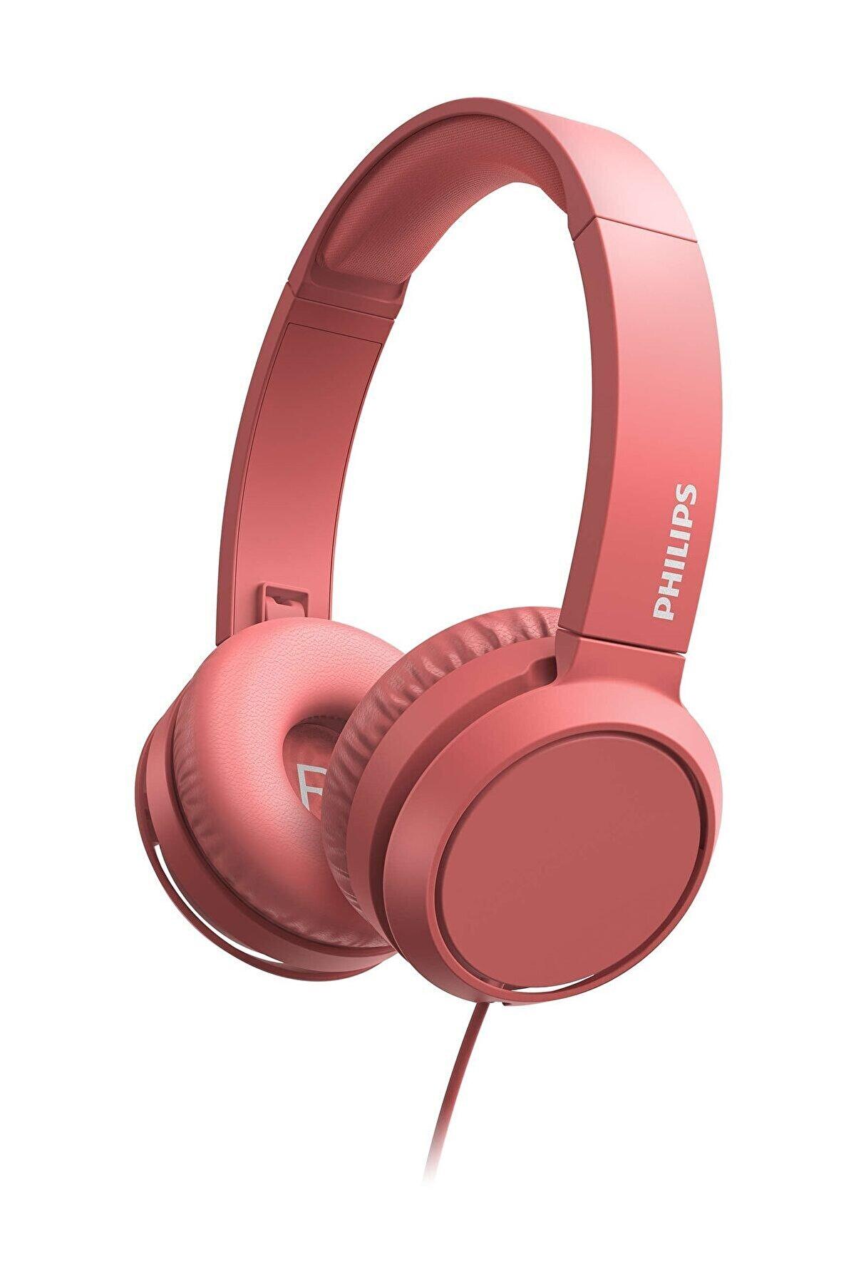 Philips TAH4105 Pembe Kablolu Kulak Üstü Kulaklık
