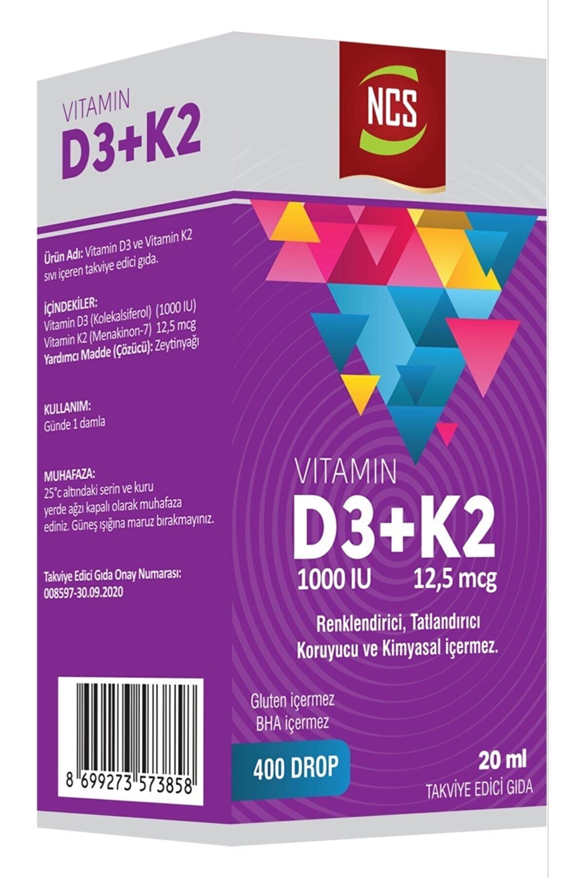 Ncs Vitamin D3+K2 20 ml