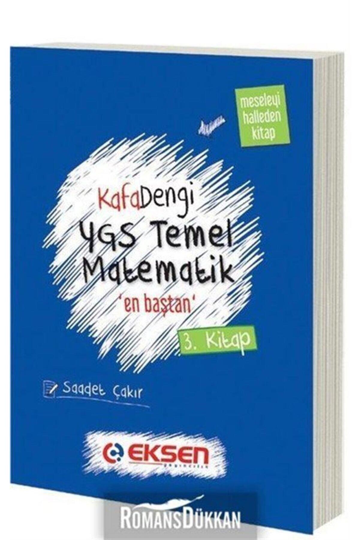 Eksen Yayınları Ygs Temel Matematik En Baştan Serisi 3. Kitap Kolay Düzey Özet Anlatım