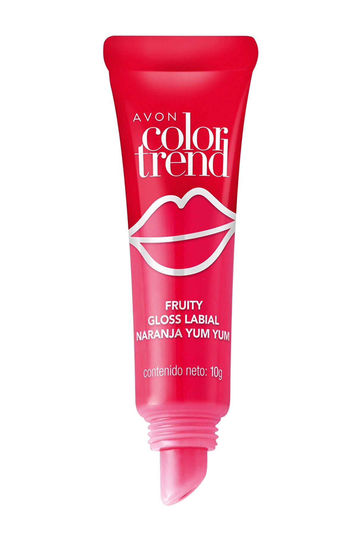 Avon Color Trend Fruity Dudak Parlatıcı - Peach Drizzle