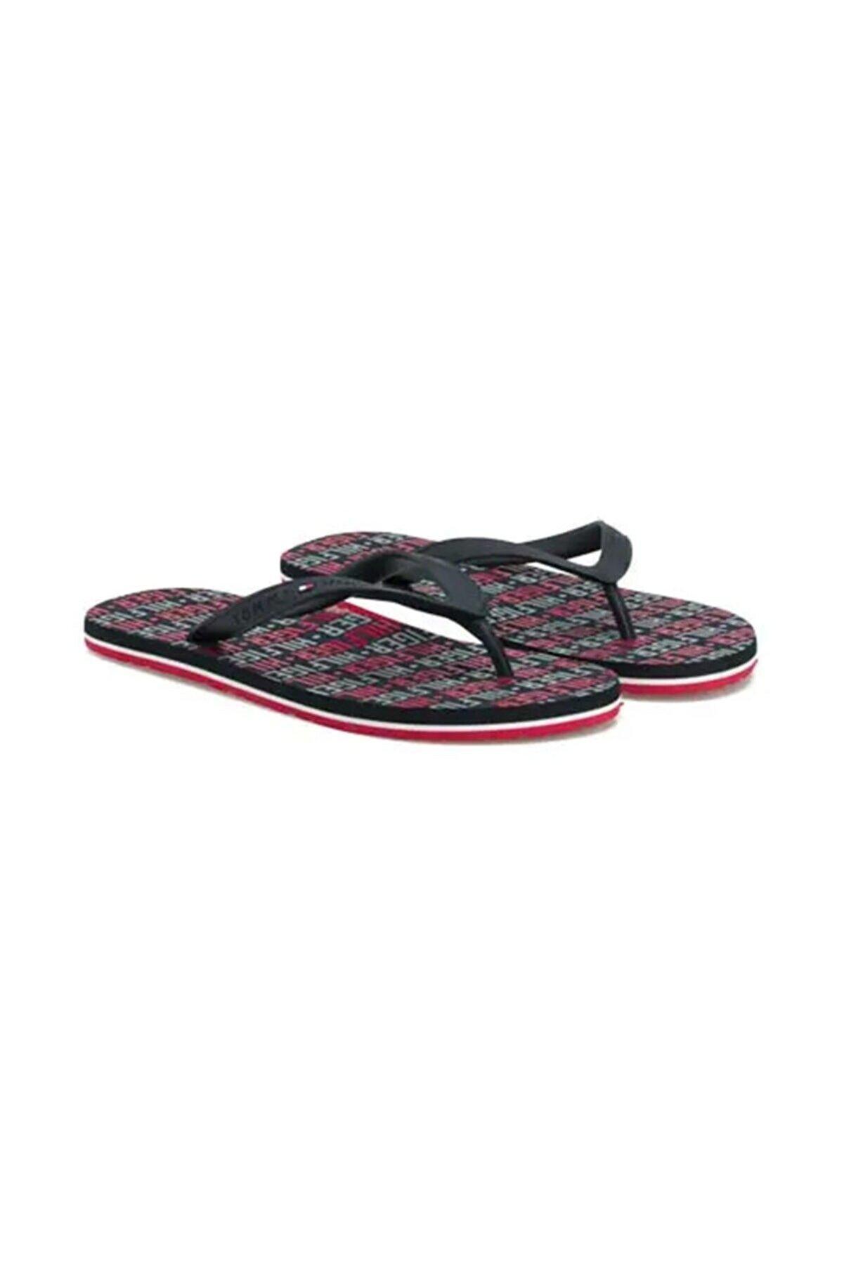 Tommy Hilfiger Tommy Hılfıger Erkek Beach Sandal Terlık Fm0fm02292 403