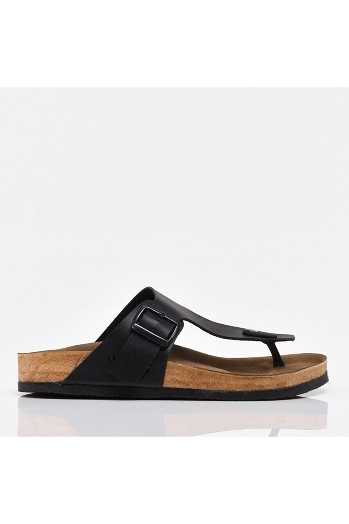 Hotiç Siyah Yaya Erkek Sandalet & Terlik