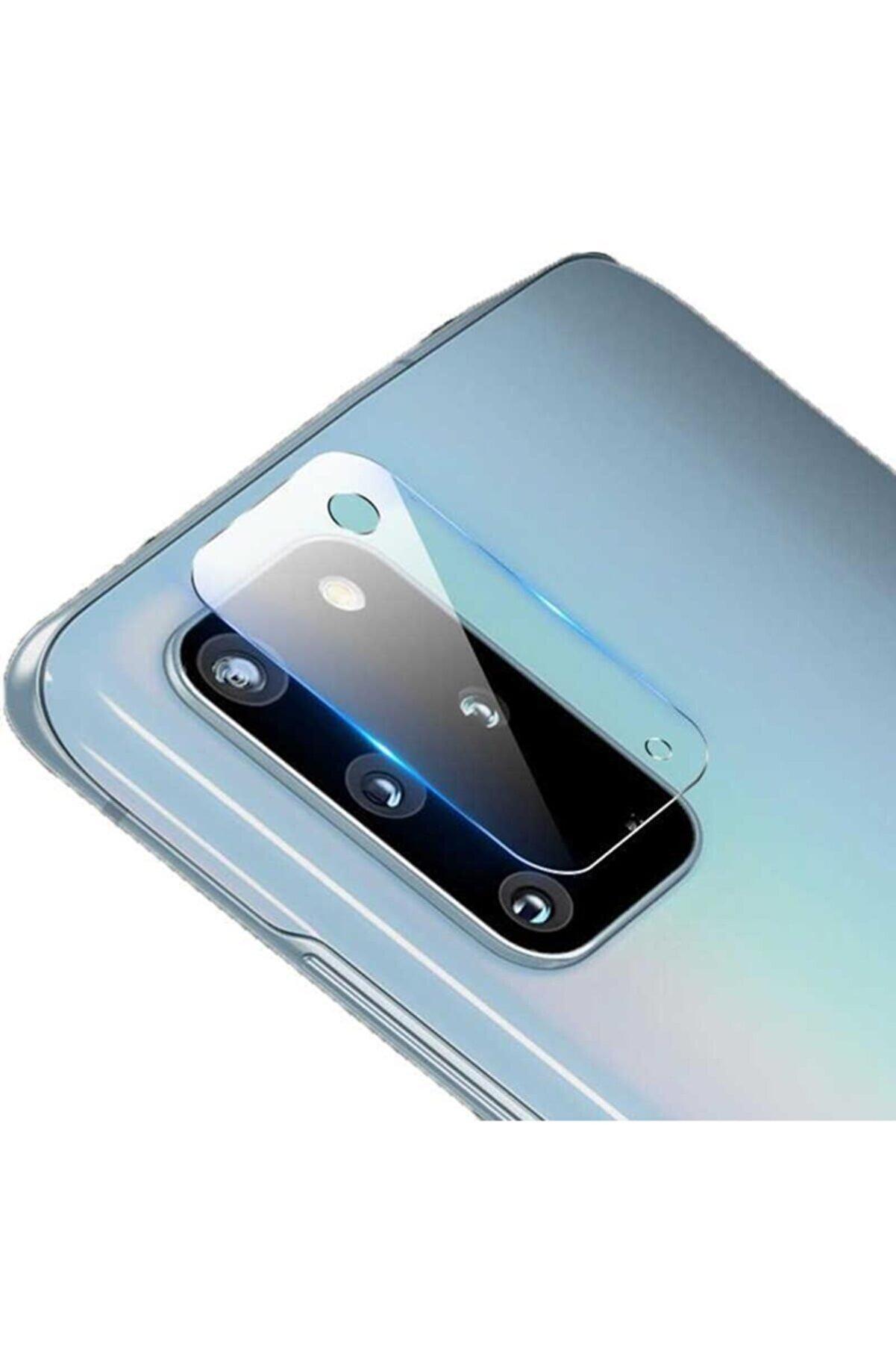 BCA Samsung S20 Plus Kırılmaz Temperli Cam Kamera Lens Koruma