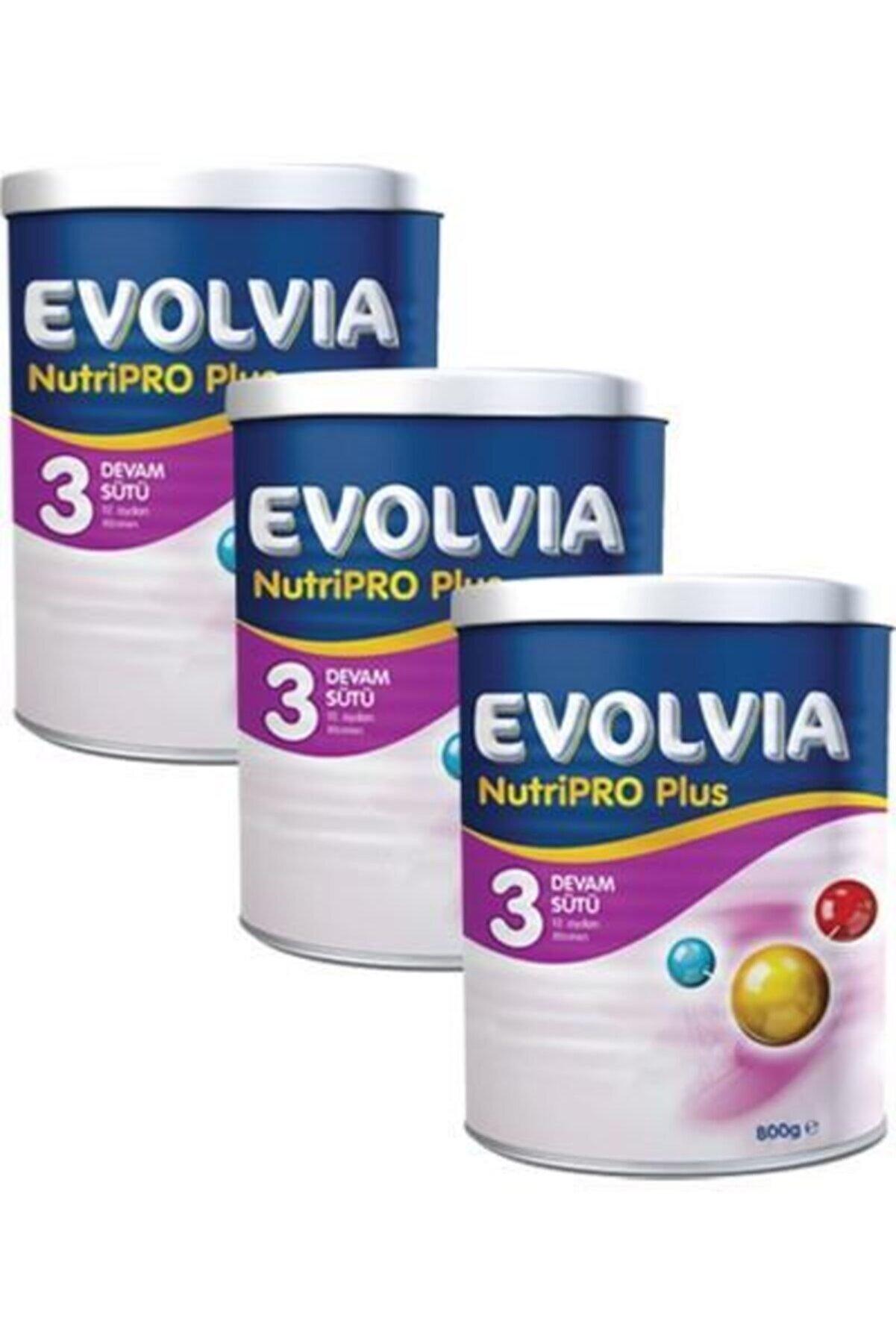 Evolvia Nutripro Plus 3 Bebek Maması 800 gr X 3 adet