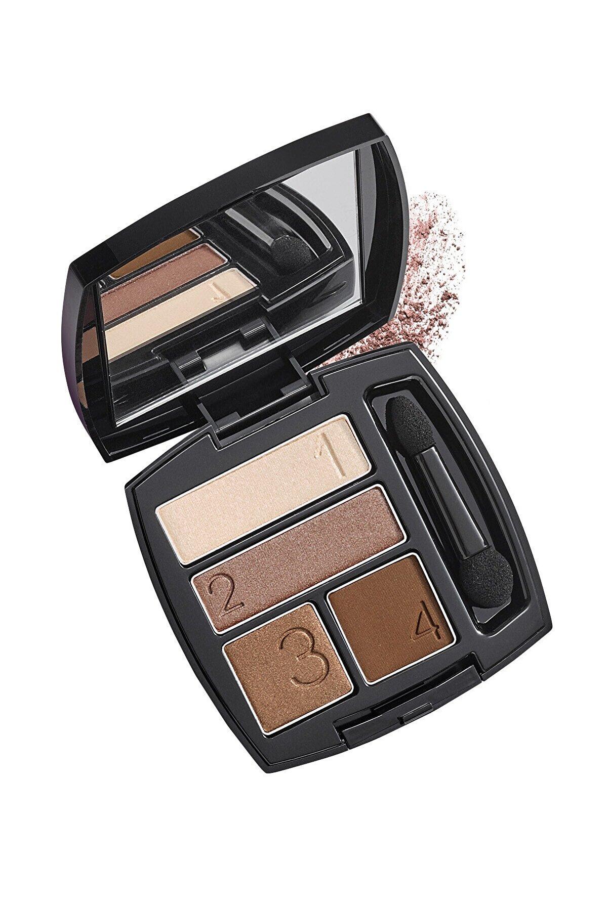 Avon True Perfect Wear Dörtlü Göz Farı - Mocha Latte