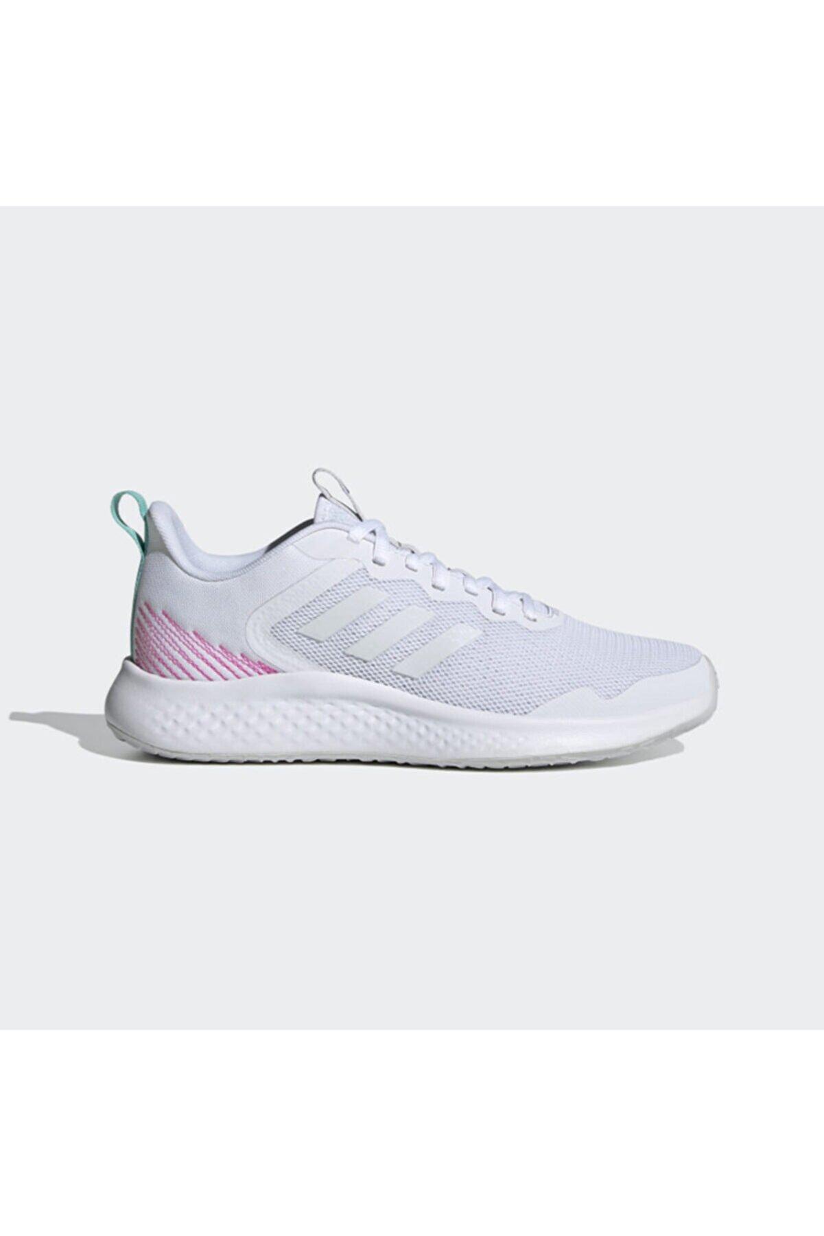adidas FLUIDSTREET Beyaz Kadın Koşu Ayakkabısı 101079756