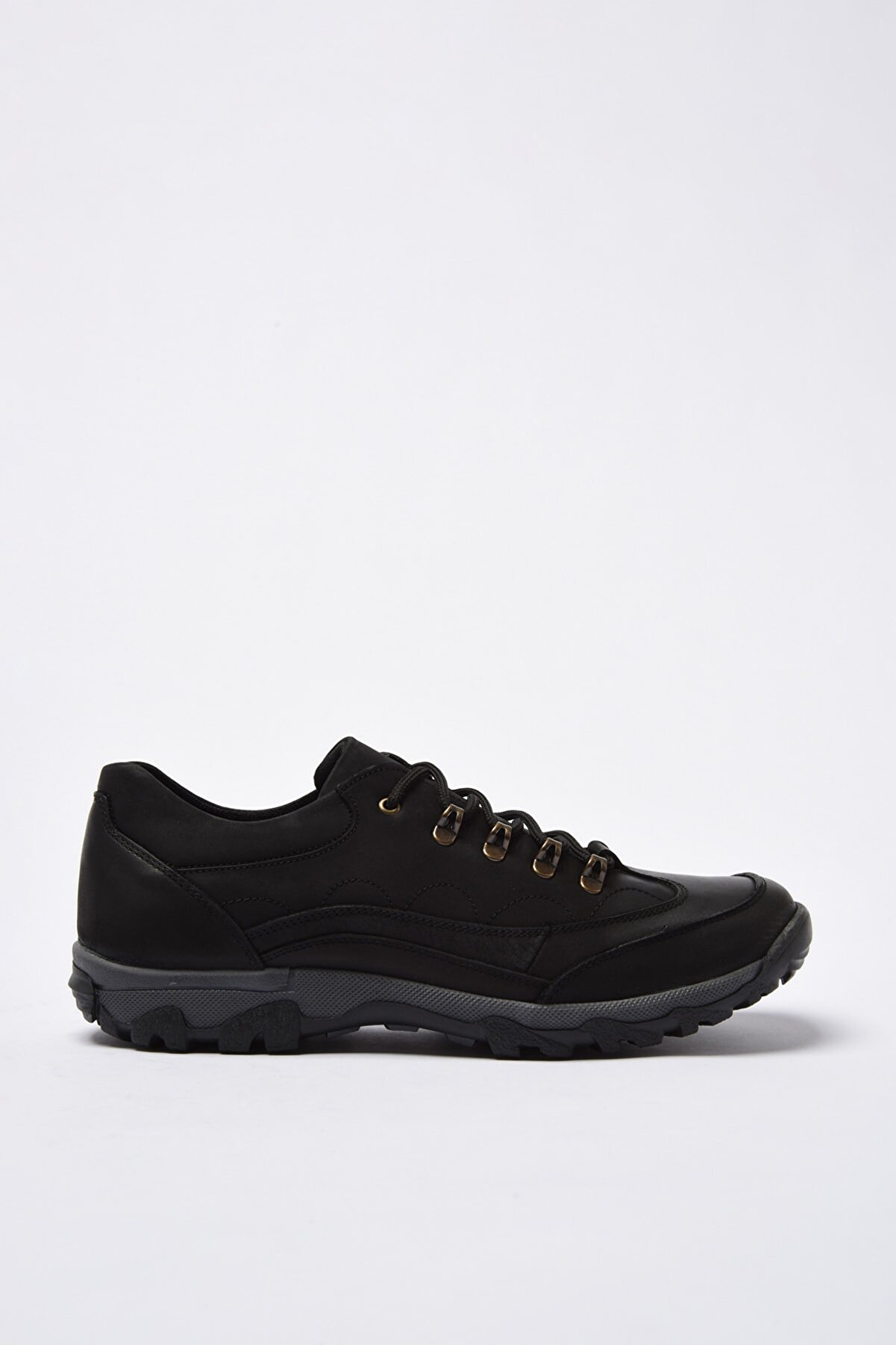 Hotiç Hakiki Deri Siyah Kadın Sneaker 02AYH200990A100