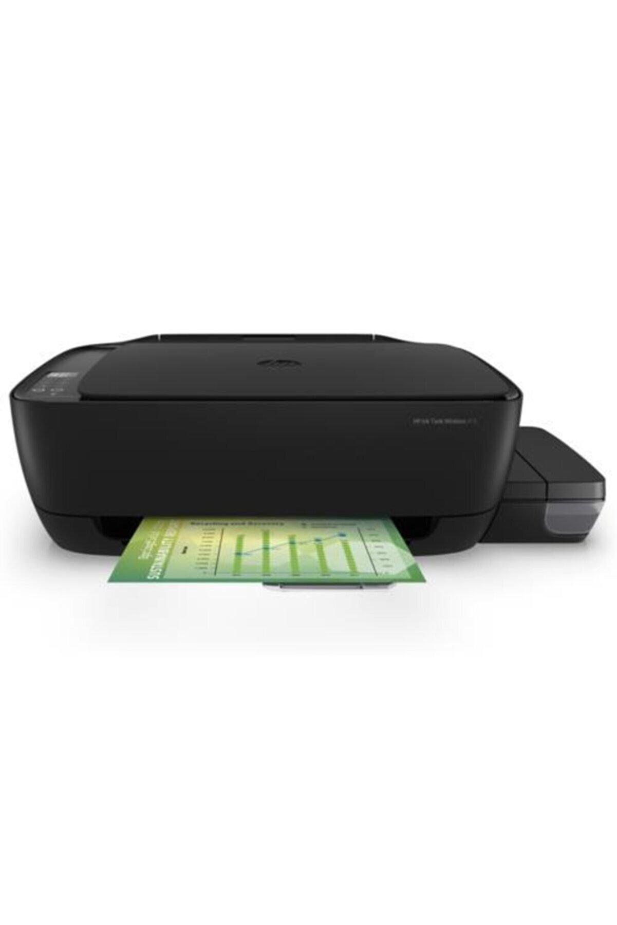 HP Z4b53a Ink Wi-fi Tanklı Wl415 Yazıcı/tarayıcı/fotokopi A4