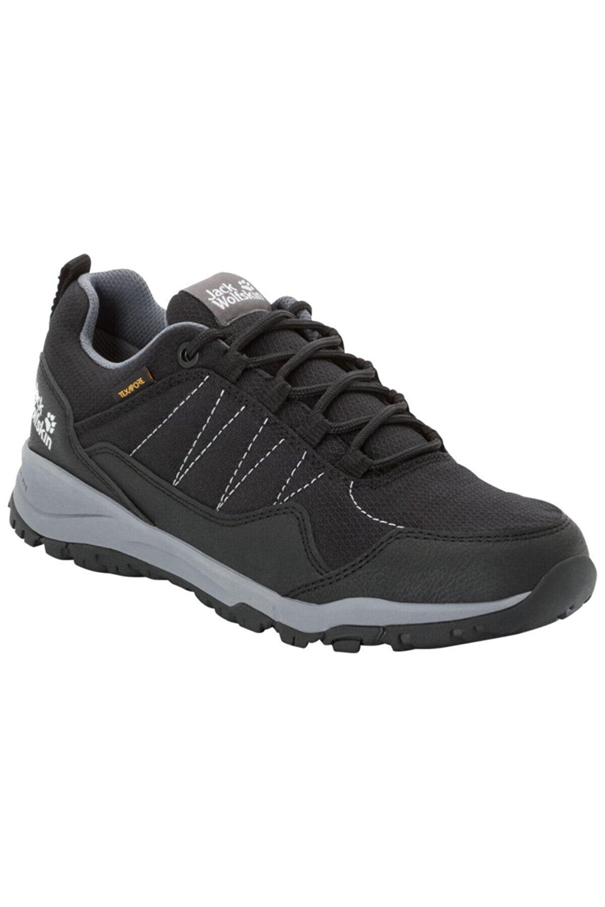 Jack Wolfskin Kadın Siyah Outdoor Ayakkabı Maze Texapore Low - 4035661-6069