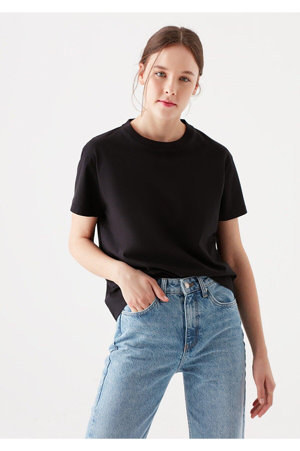 Mavi Siyah Basic Tişört 1600955-900