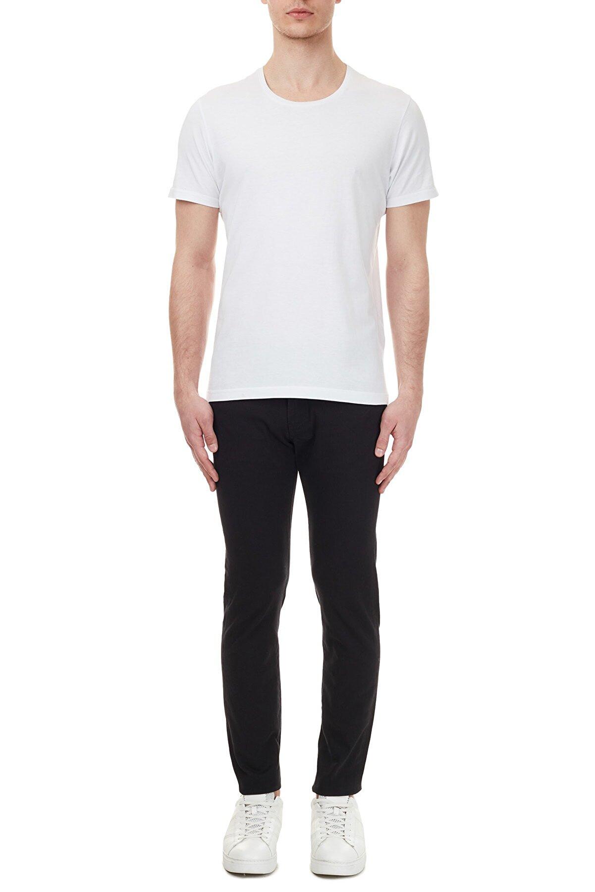 Armani Exchange Erkek Siyah Pantolon