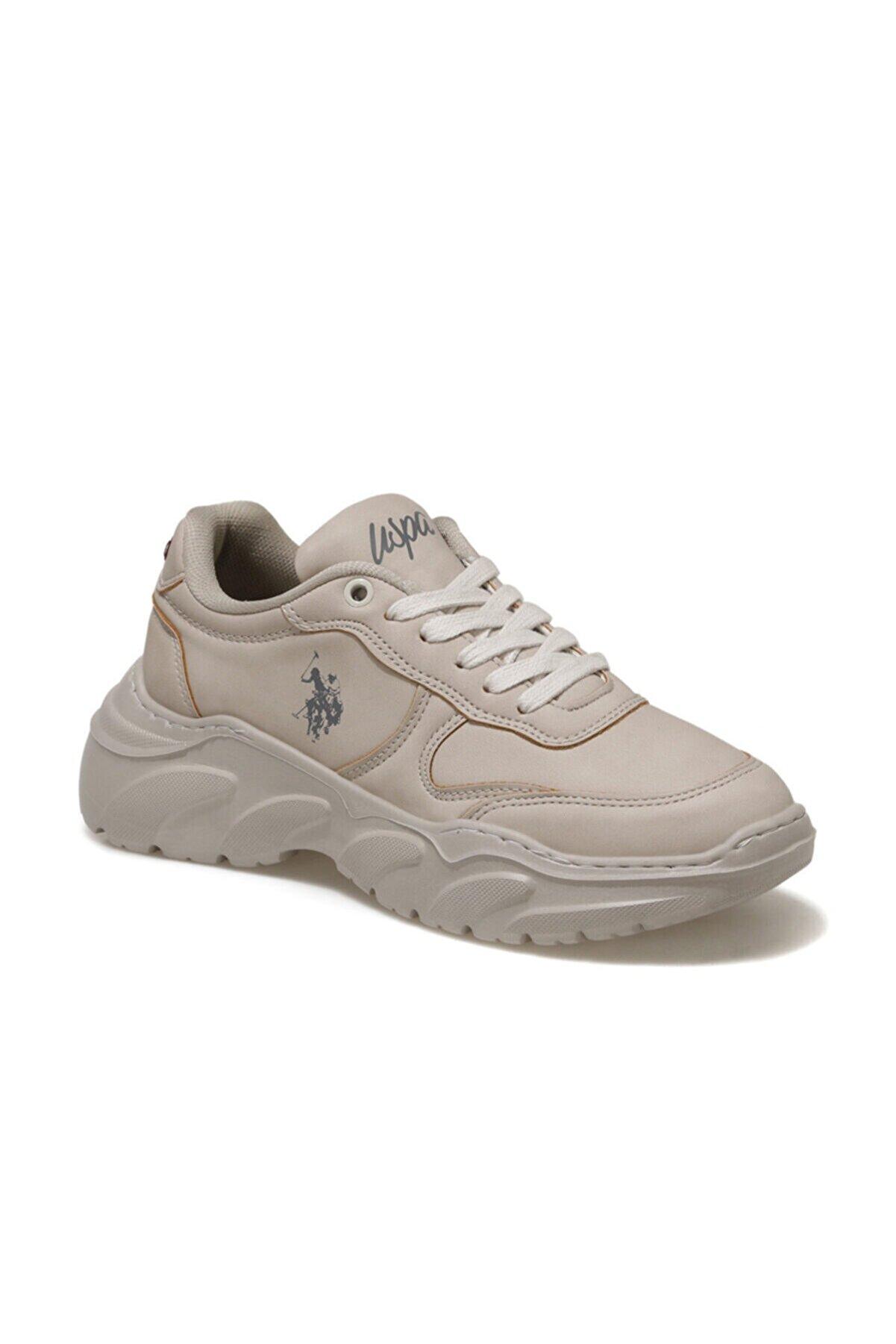 US Polo Assn LOVELY Bej Kadın Fashion Sneaker 100551395