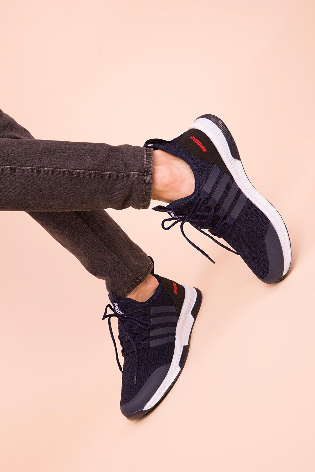 Soho-Men Lacivert Erkek Sneaker 3033