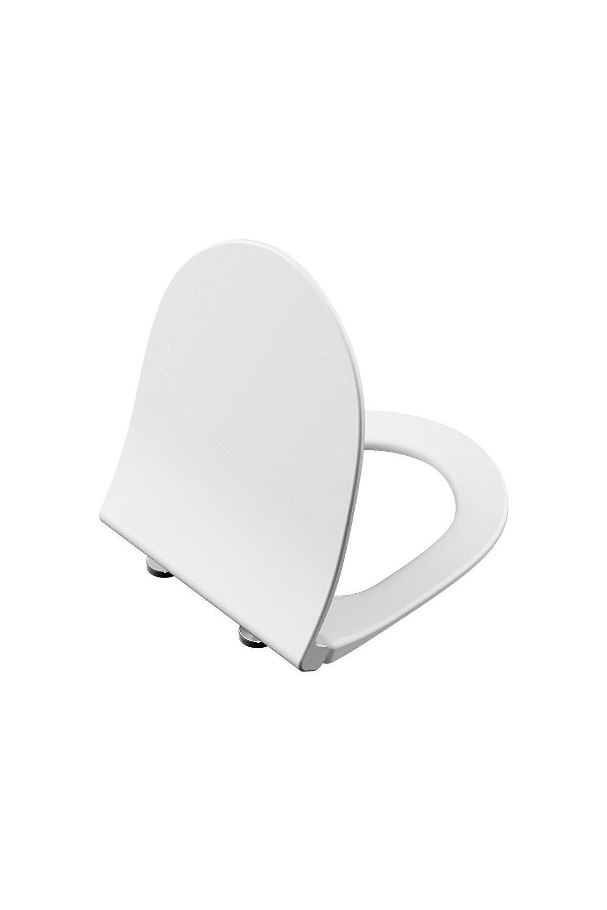 VitrA Sento 120-003-009 Slim Klozet Kapağı, Yavaş Kapanır, Beyaz
