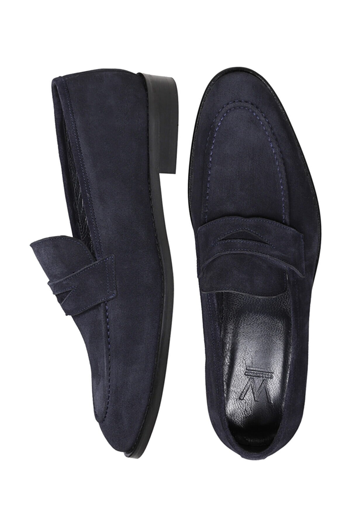 W Collection LACİVERT SÜET LOAFER