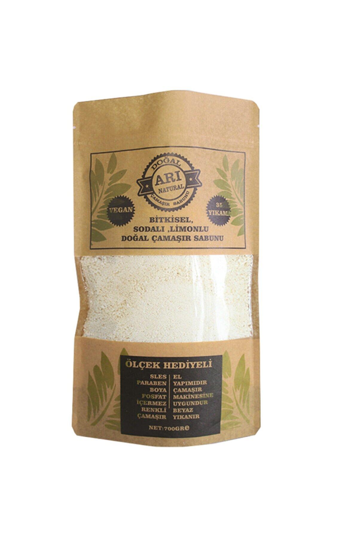 ARI NATURAL Doğal Çamaşır Sabunu Limonlu Sodalı Borakslı