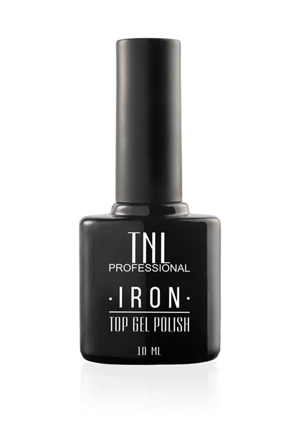 TNL Iron Top Coat Hızlı Kalıcı Üst Kaplama Oje Kurutucu 10 ml
