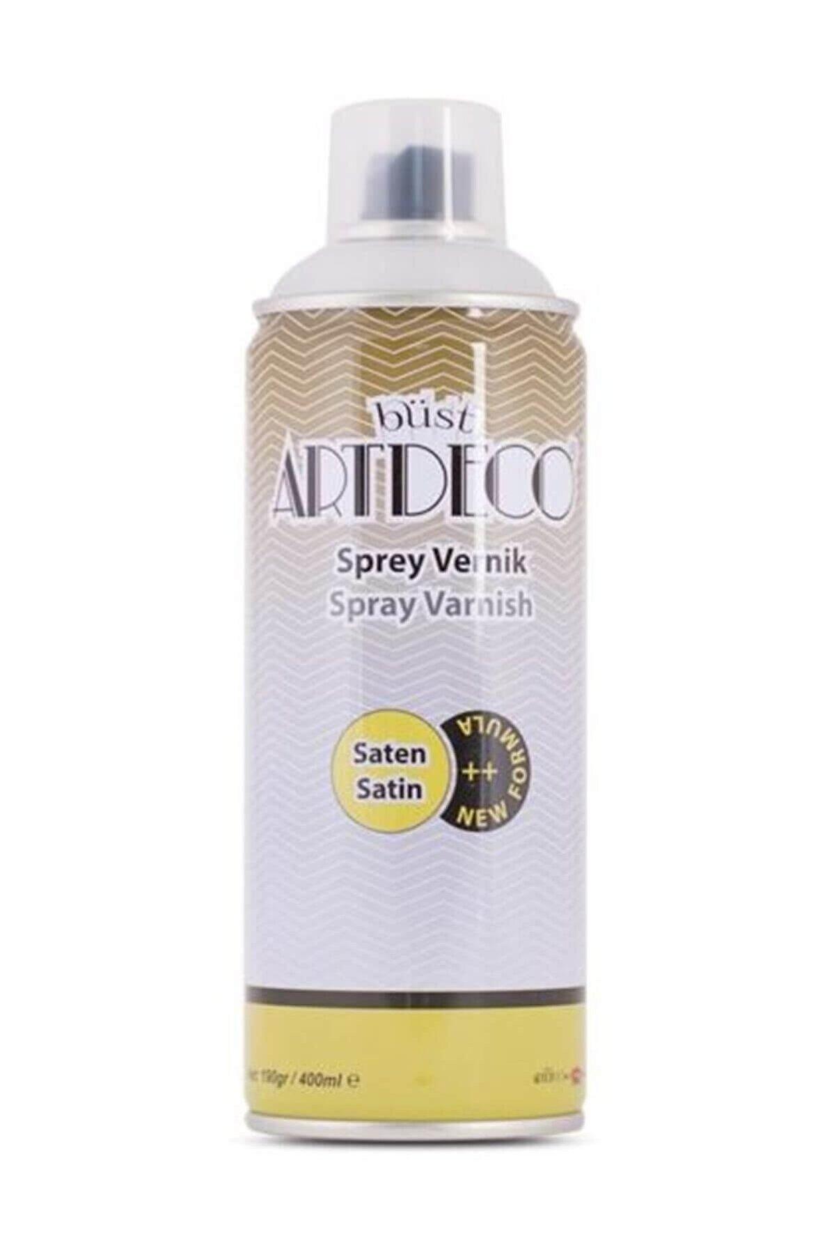 Artdeco Sprey Vernik 400 ml. SATEN (YARI MAT)
