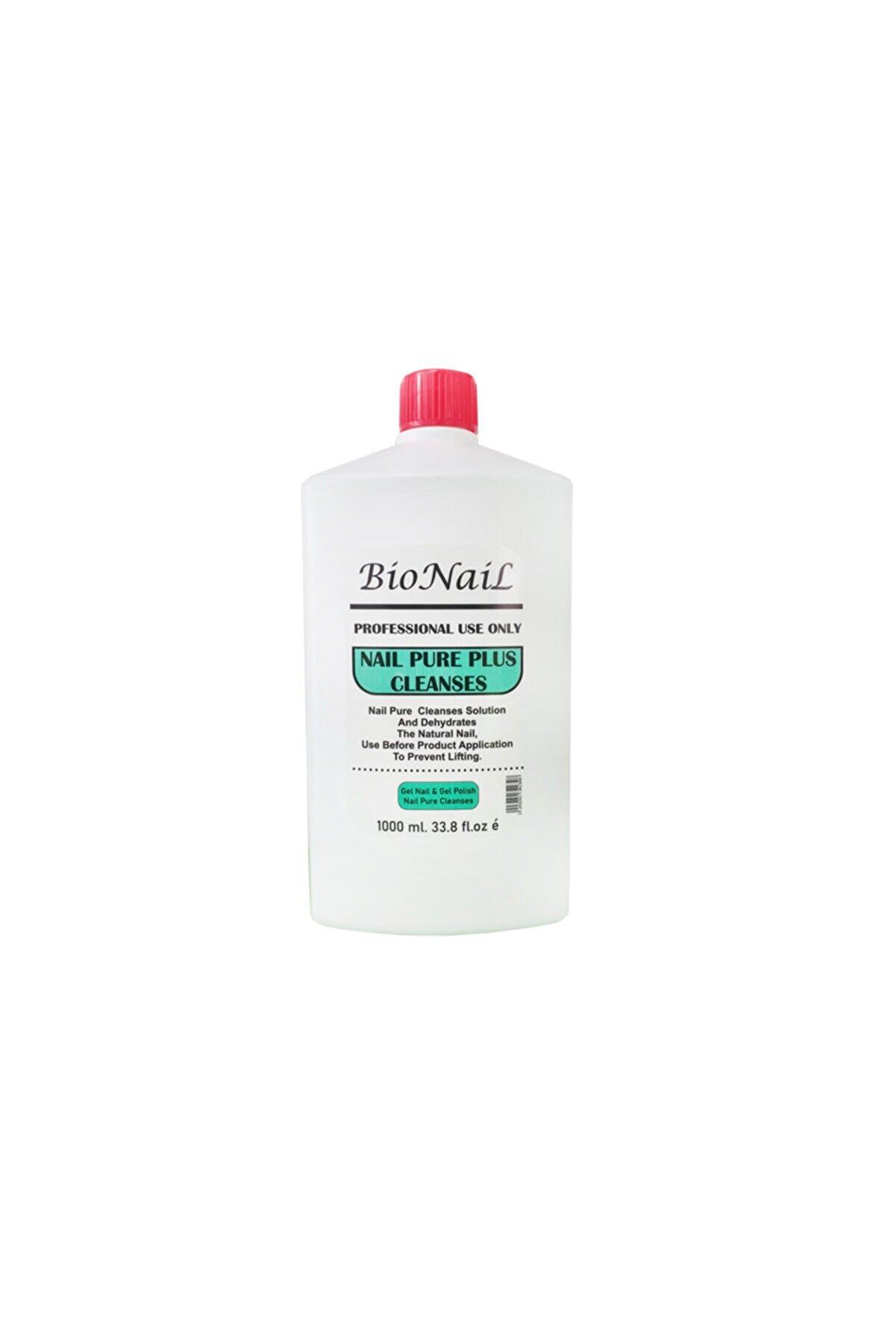 BioNaiL Protez Tırnak Kalıcı Oje İlk Kat Silme Sıvısı Nail Pure 1000 ml
