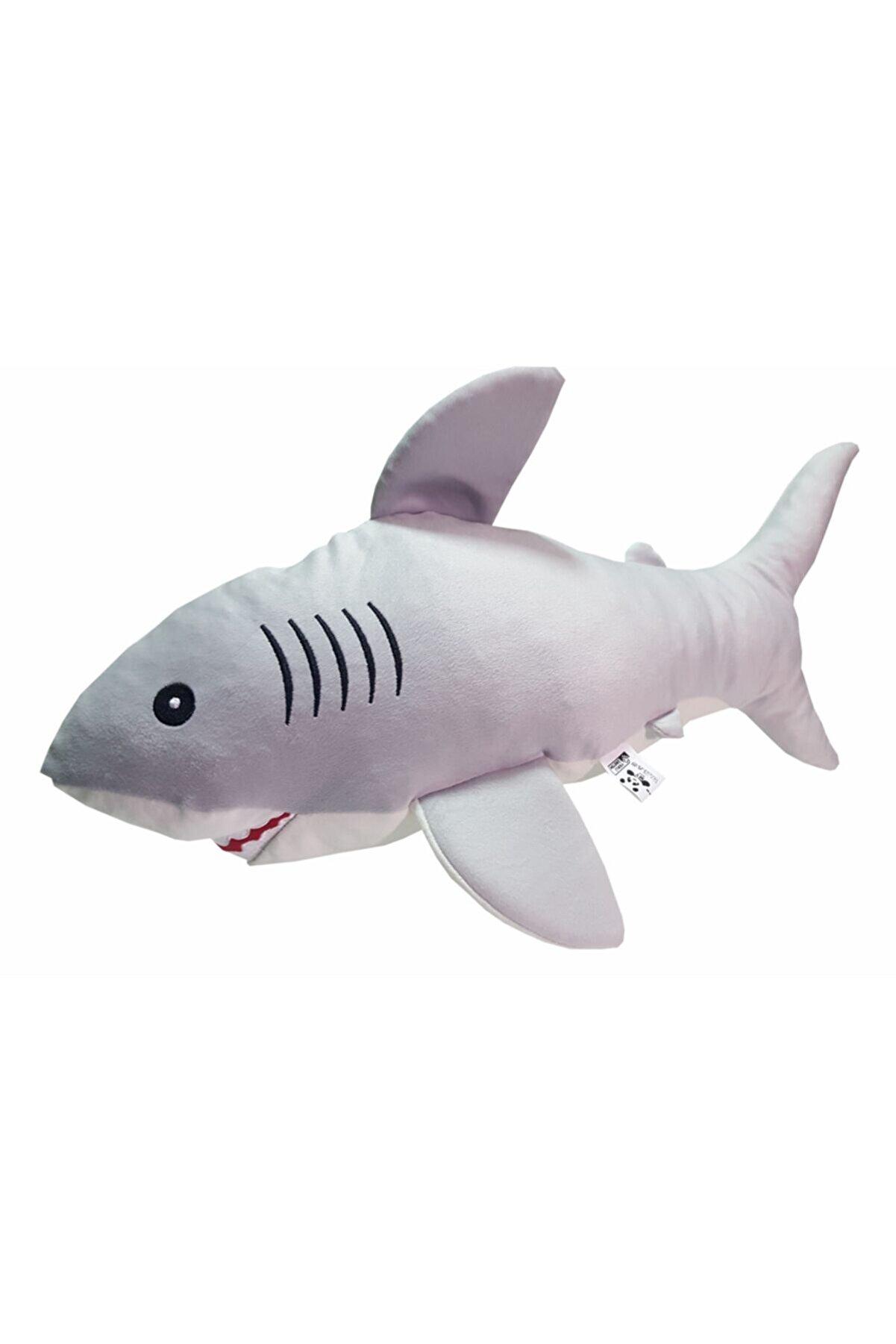 MY toys Uyku Arkadaşım Soft Köpek Balığı Gri - 75 Cm.