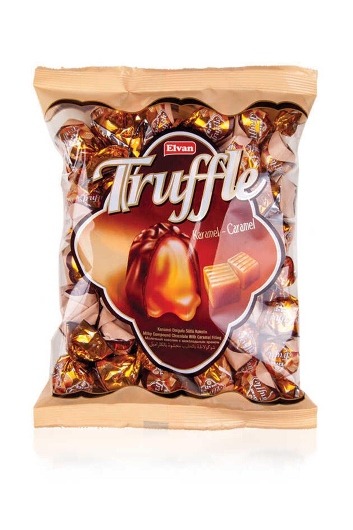 Elvan Truffle Karamelli 1000 gr (1 Poşet)