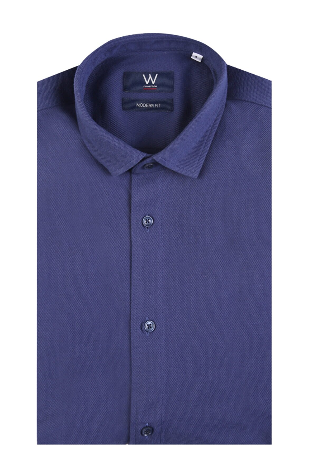 W Collection Lacivert Gömlek