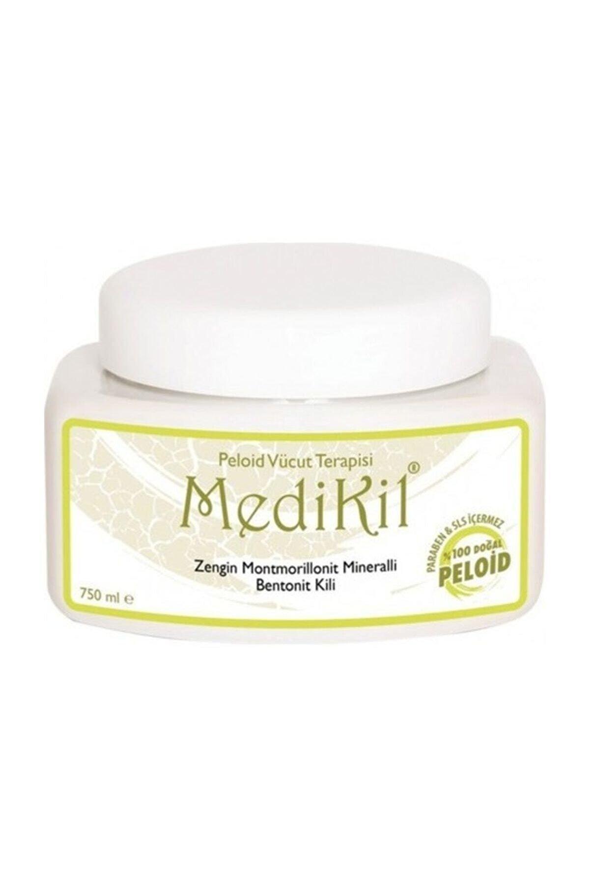 Medikil Peloid Vücut Terapisi Zengin Montmorillonit Mineralli Bentonit Kili 750ml
