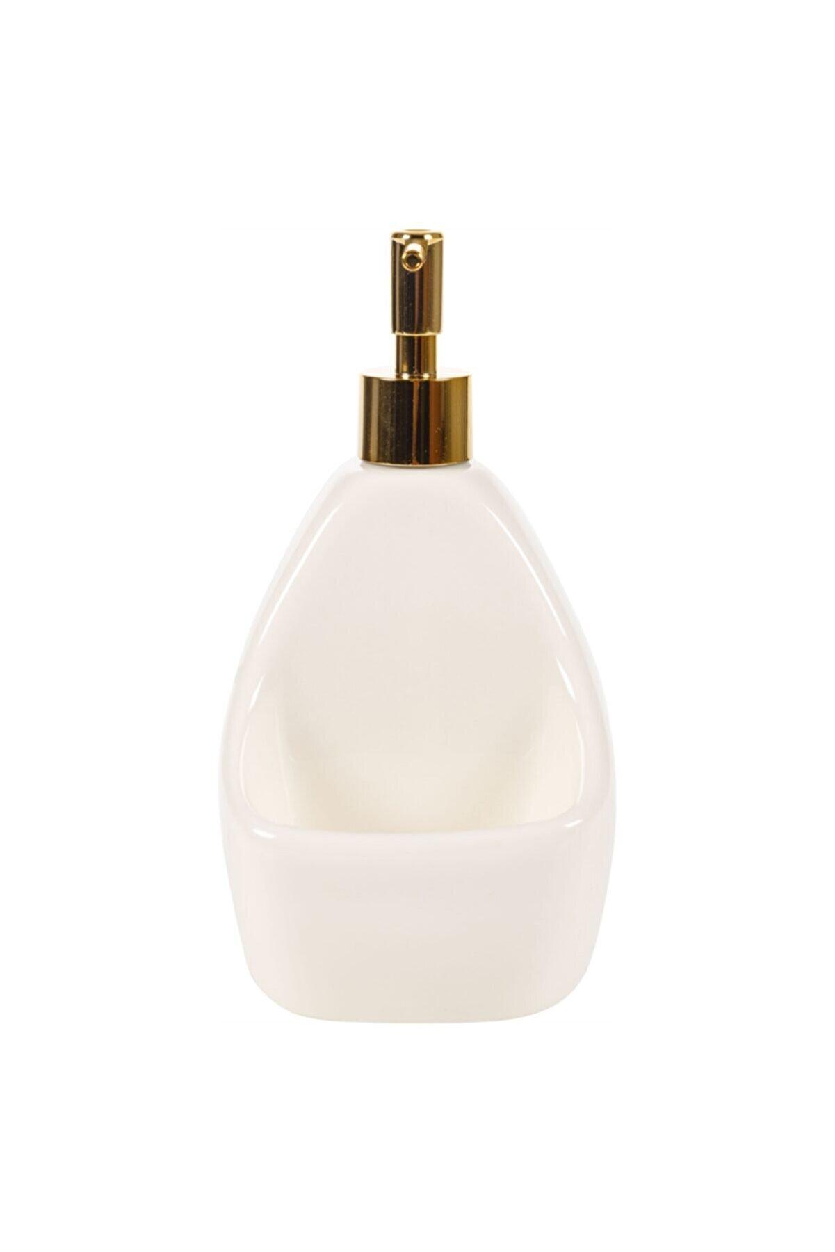 Mudo Concept Glory Hazneli Sıvı Sabunluk - Beyaz