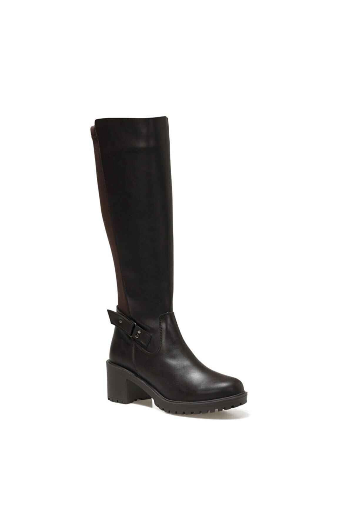 Polaris 316737.Z Kahverengi Kadın Ökçeli Çizme 100562155