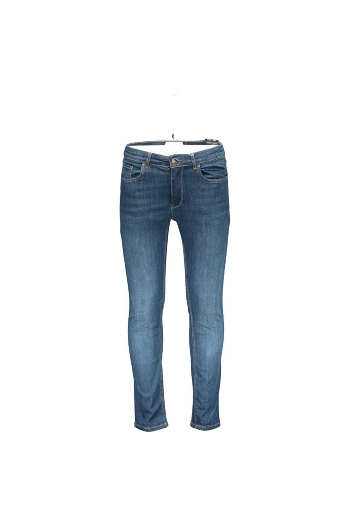 Collezione Erkek Mavi Kot Pantolon