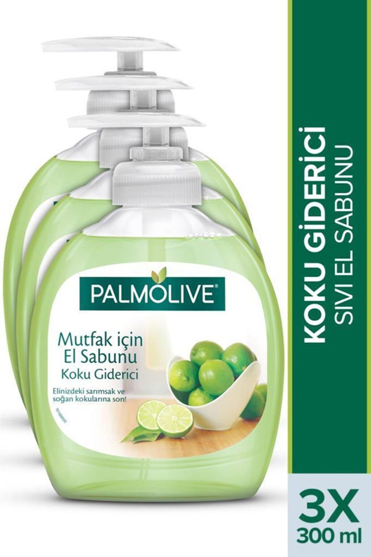 Palmolive Mutfak için Koku Giderici Sıvı El Sabunu 3 X 300 ml