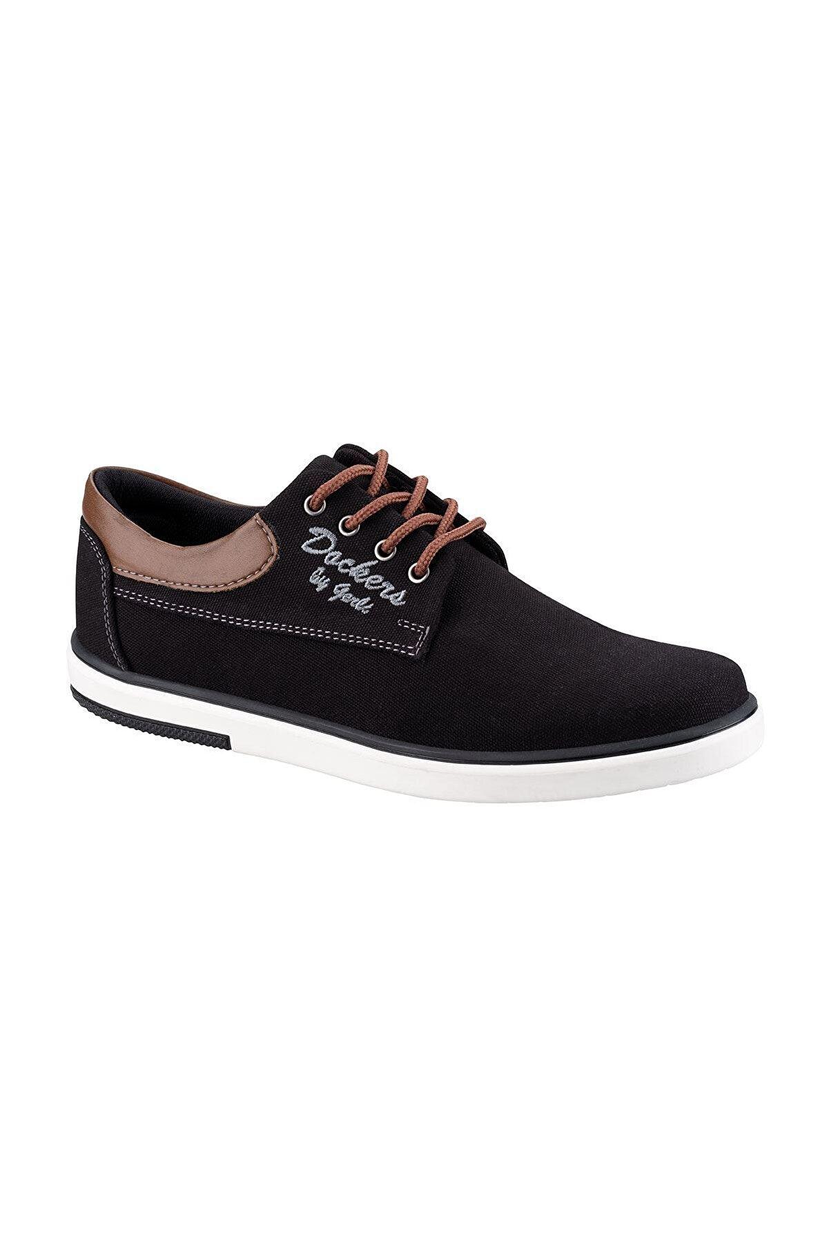 Dockers 224942 1FX Siyah Erkek Sneaker Ayakkabı 100781236