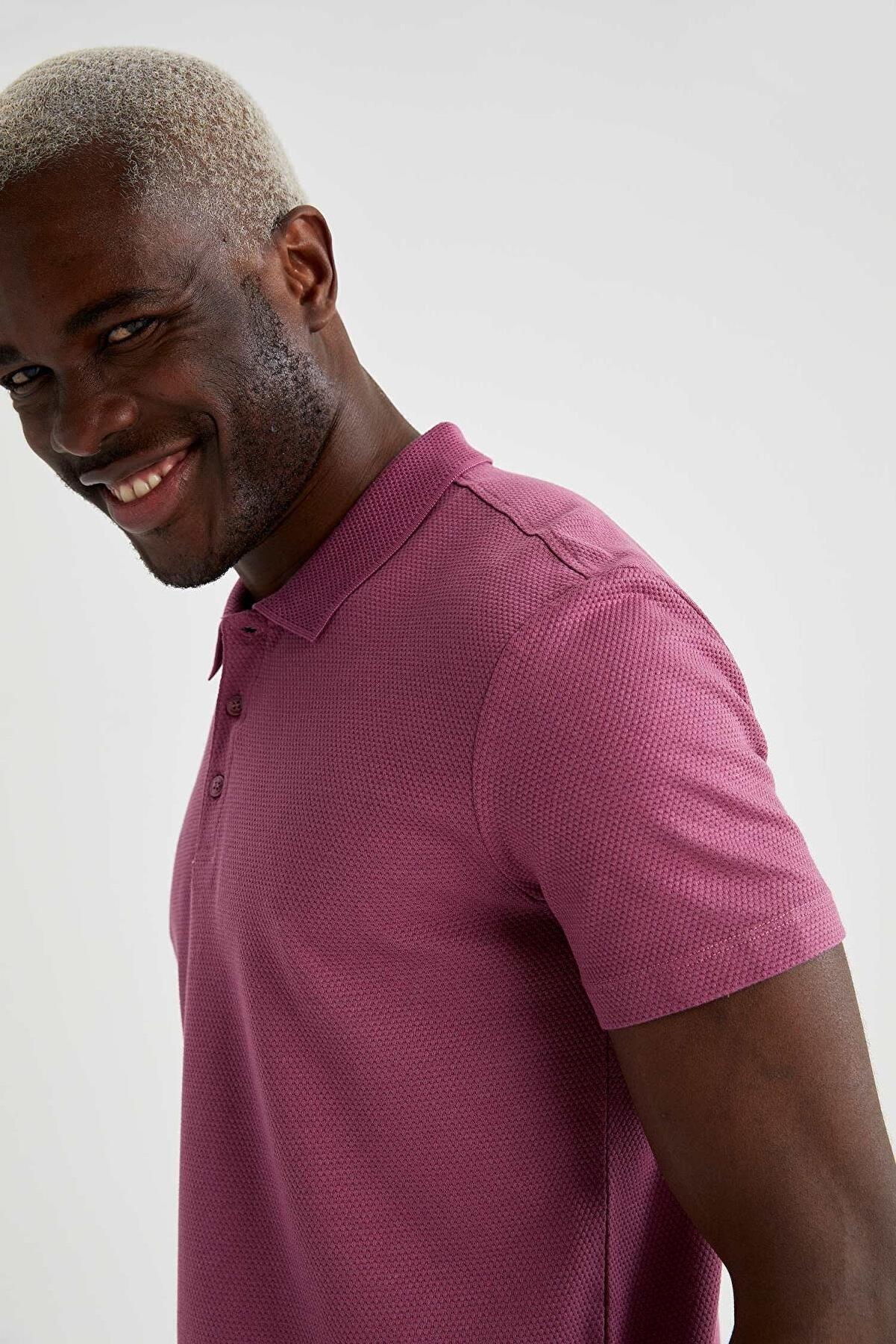 Defacto Slim Fit Basic Polo T-Shirt