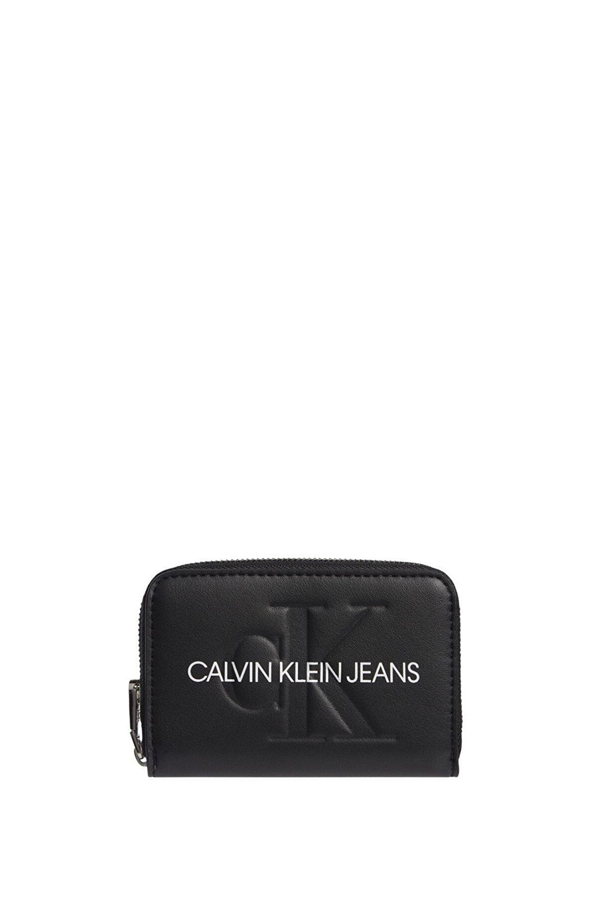 Calvin Klein Kadın Sculpted Mono Kadın Cüzdanı K60k608007
